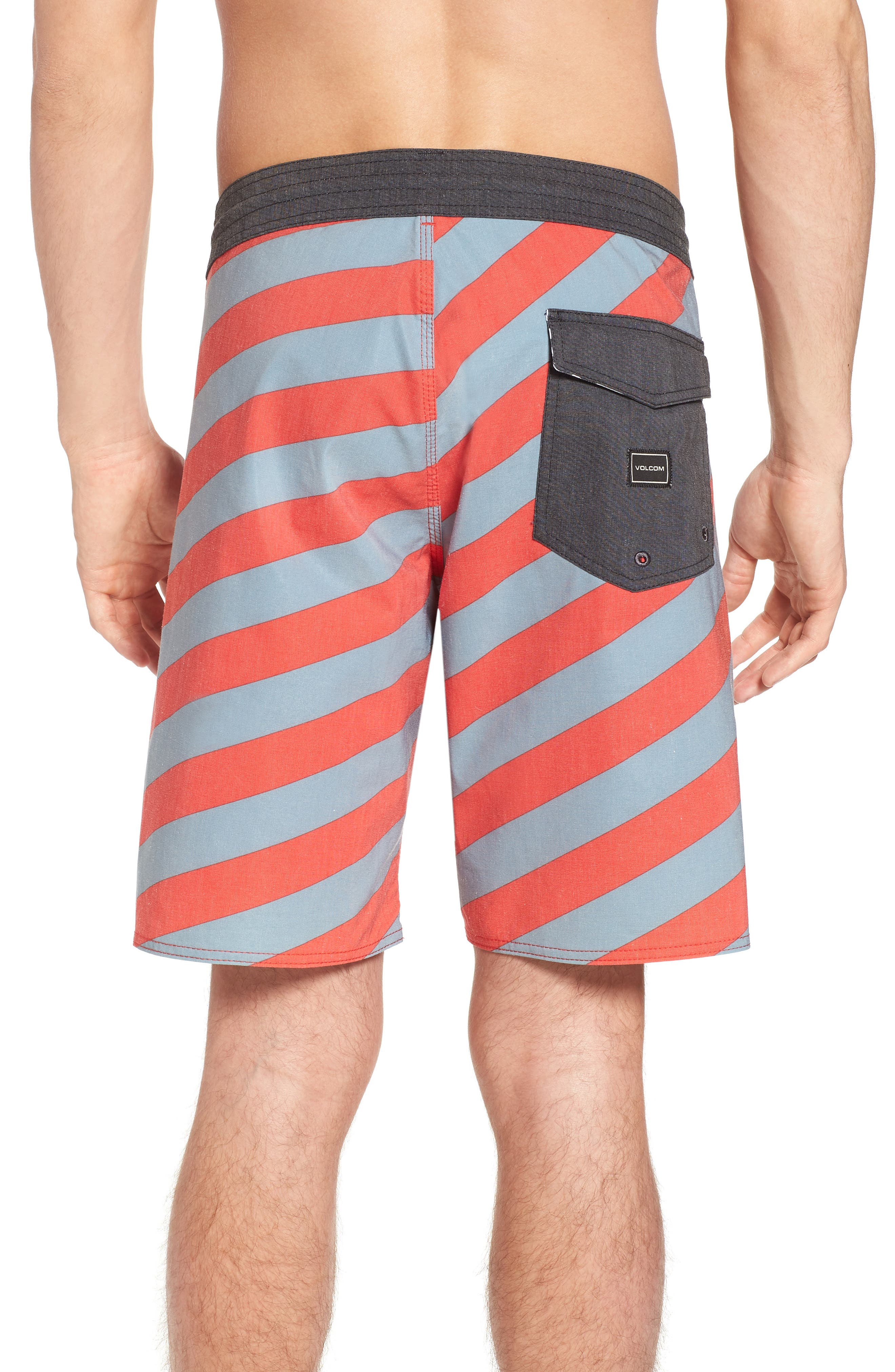 Stripey Stoney Boardshorts,                             Alternate thumbnail 2, color,                             Lead