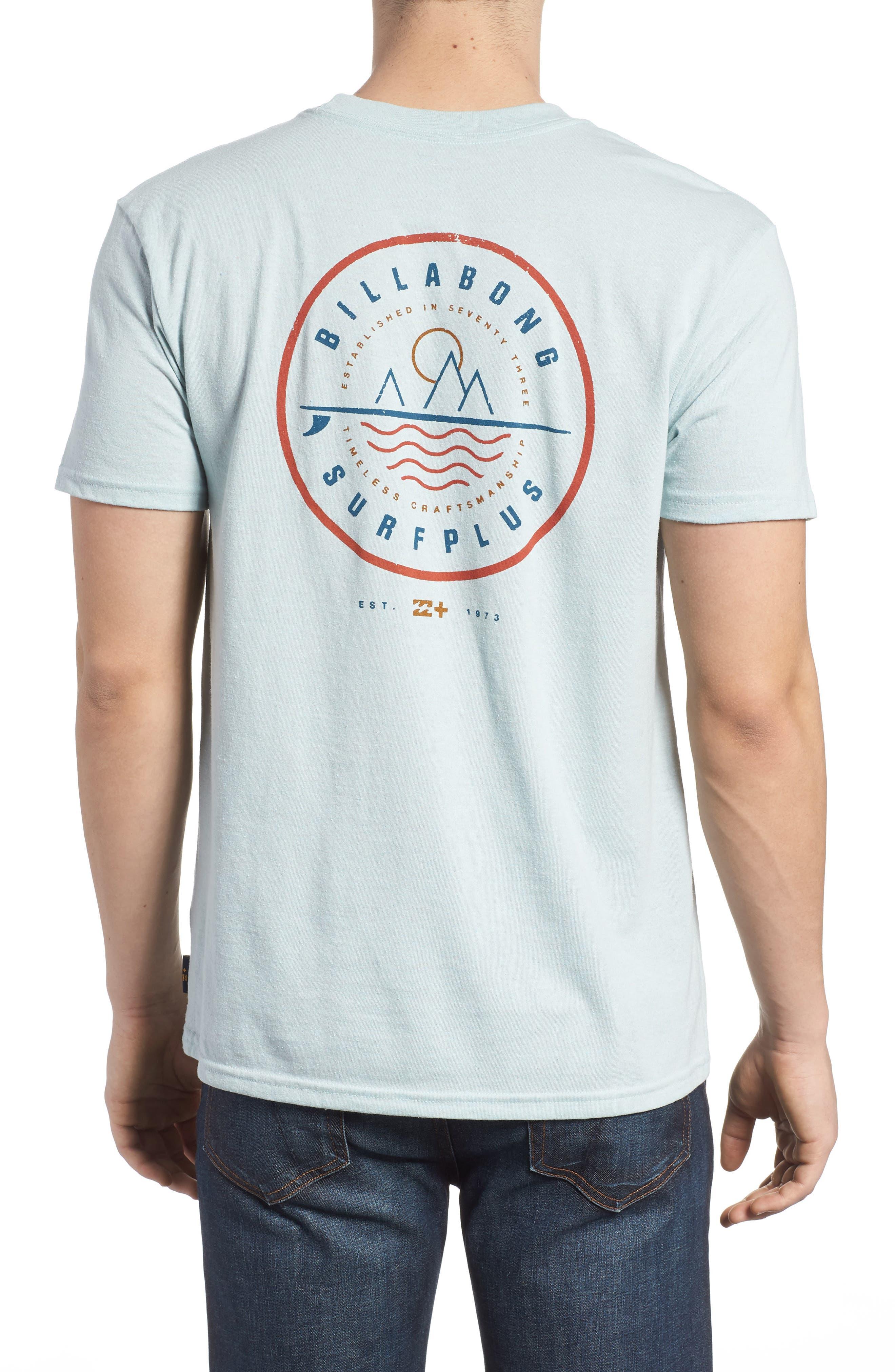 Crossboard Graphic T-Shirt,                             Alternate thumbnail 2, color,                             Light Aqua