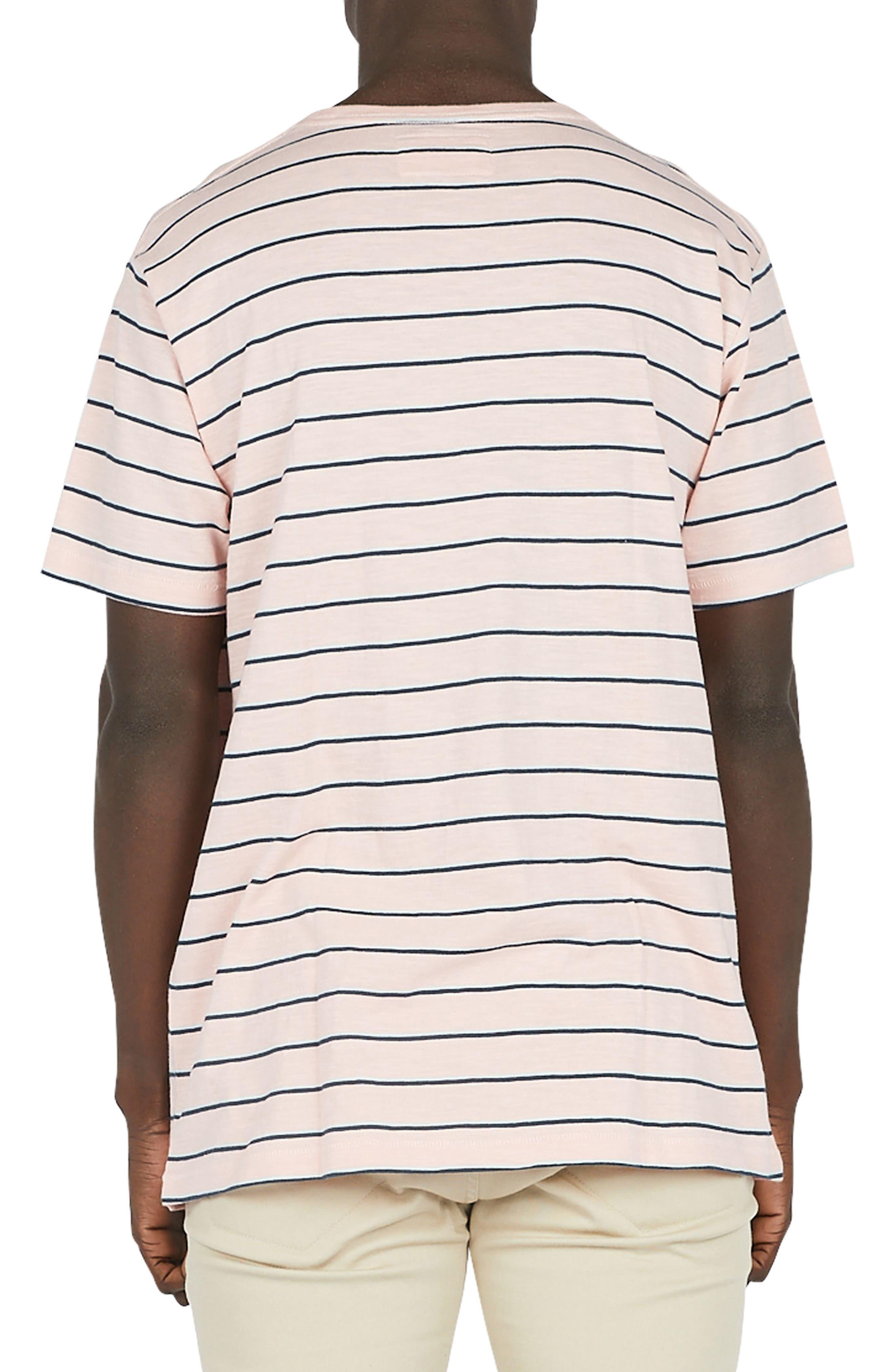 B.Schooled T-Shirt,                             Alternate thumbnail 2, color,                             Pink Stripe