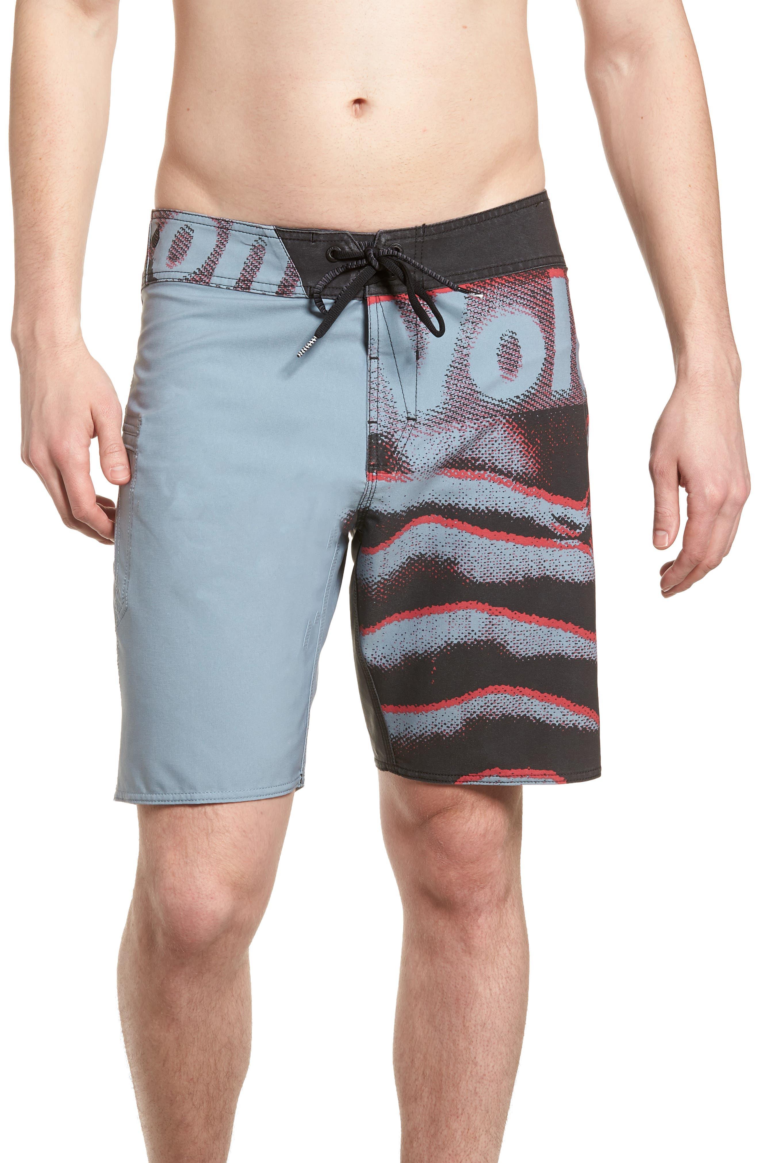 Liberate Mod Swim Shorts,                         Main,                         color, Lead