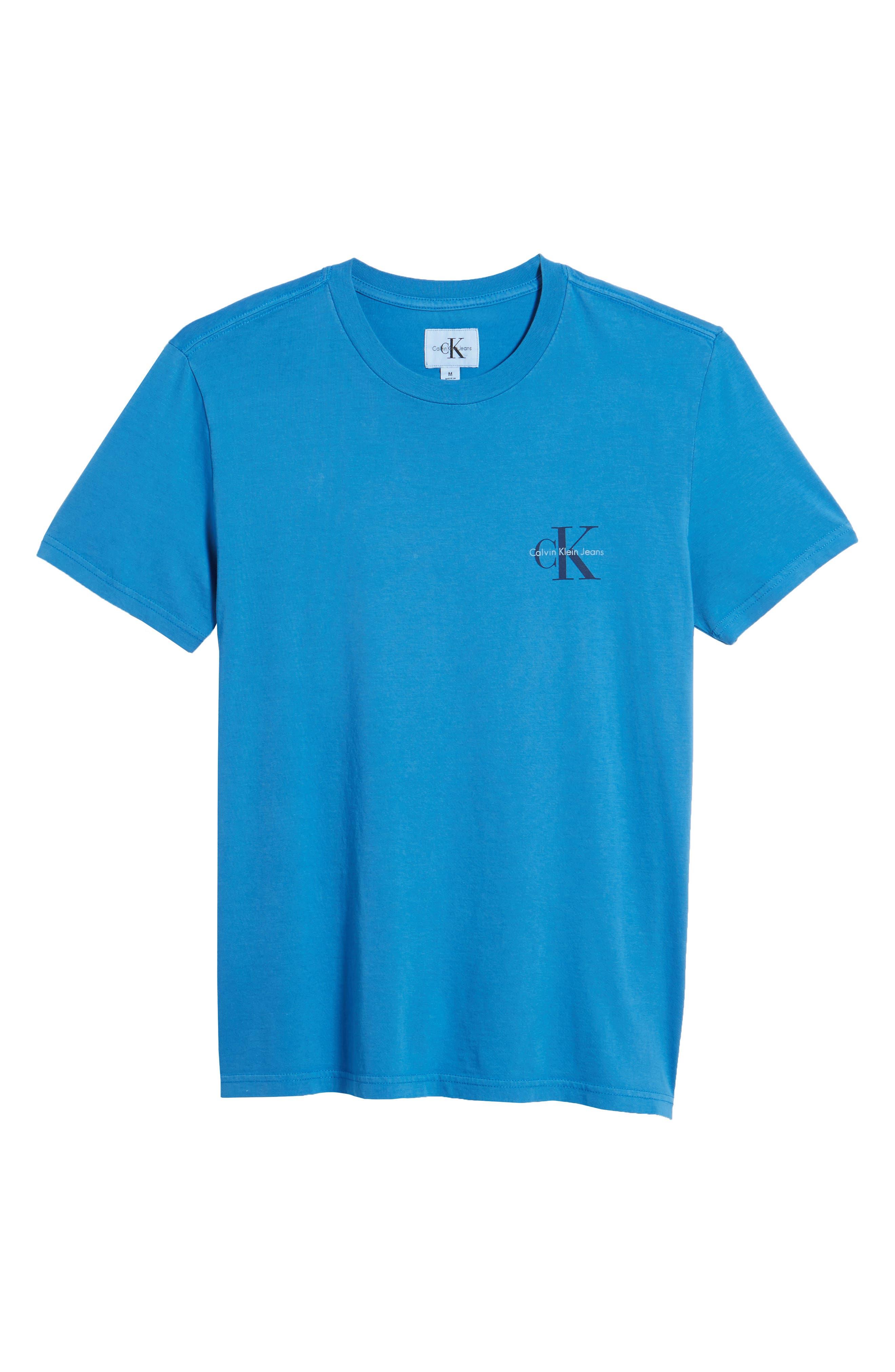 Pop Color T-Shirt,                             Alternate thumbnail 6, color,                             Strong Blue