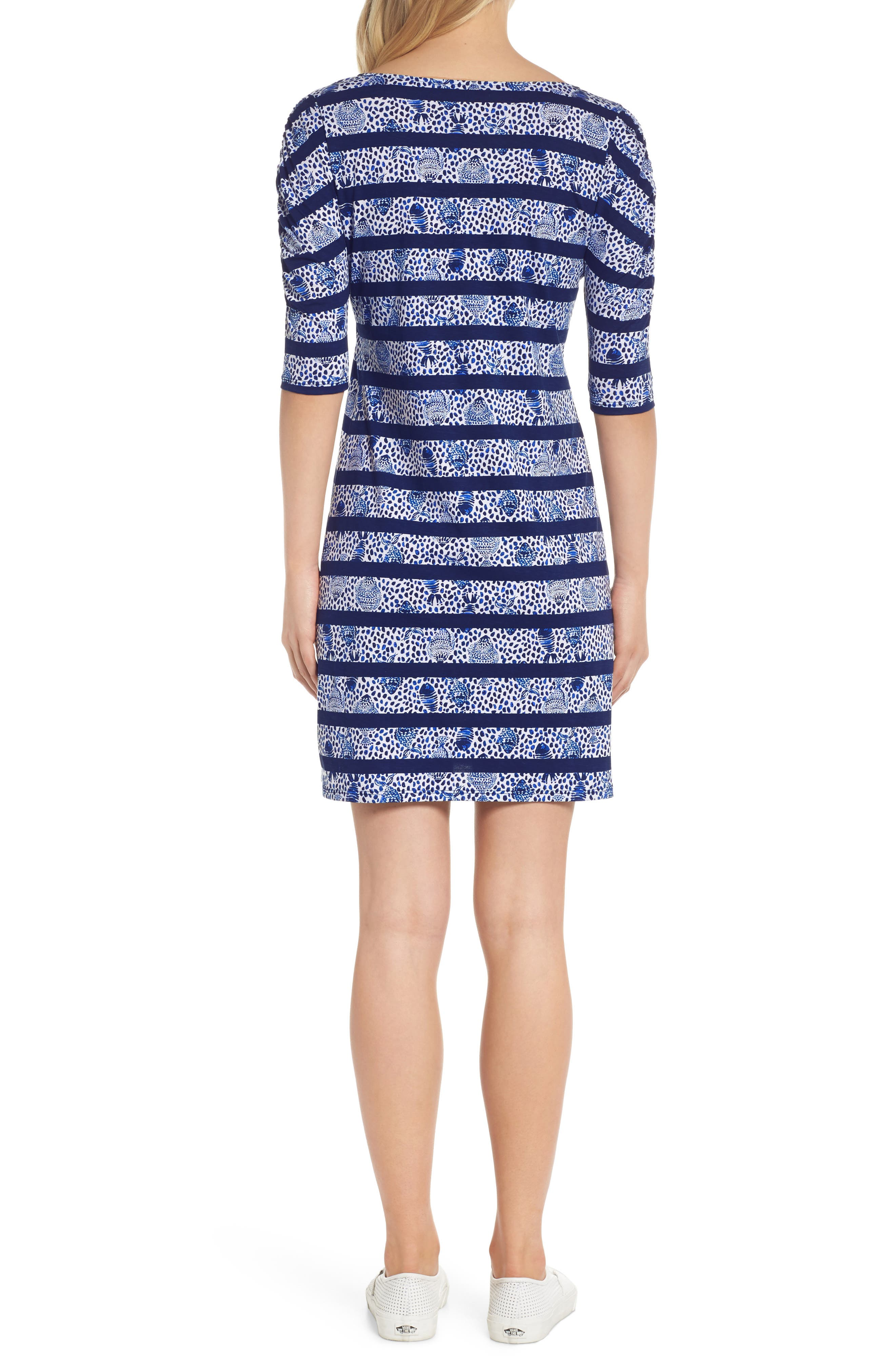 Lajolla Stripe Dress,                             Alternate thumbnail 2, color,                             High Tide Heart And Sole