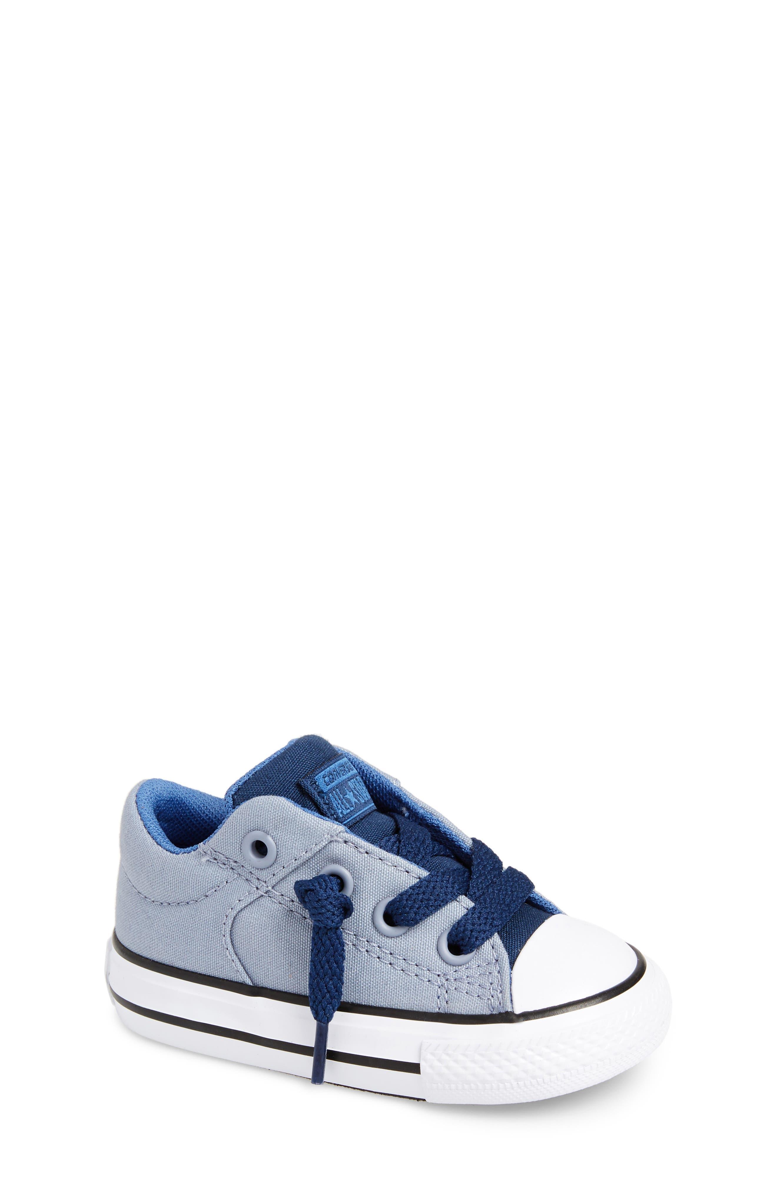 Chuck Taylor<sup>®</sup> All Star<sup>®</sup> High Street Slip-On Sneaker,                             Main thumbnail 1, color,                             Glacier Grey