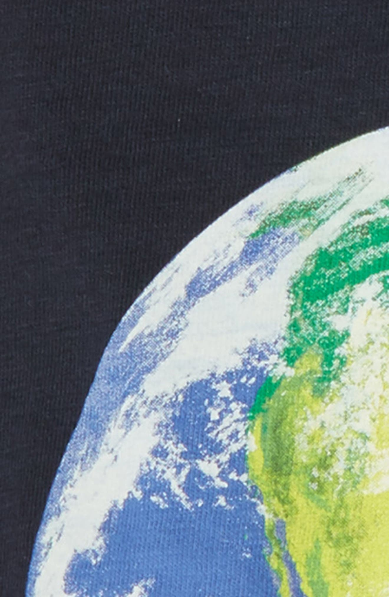 Earth Day Graphic T-Shirt,                             Alternate thumbnail 2, color,                             Dark Charcoal