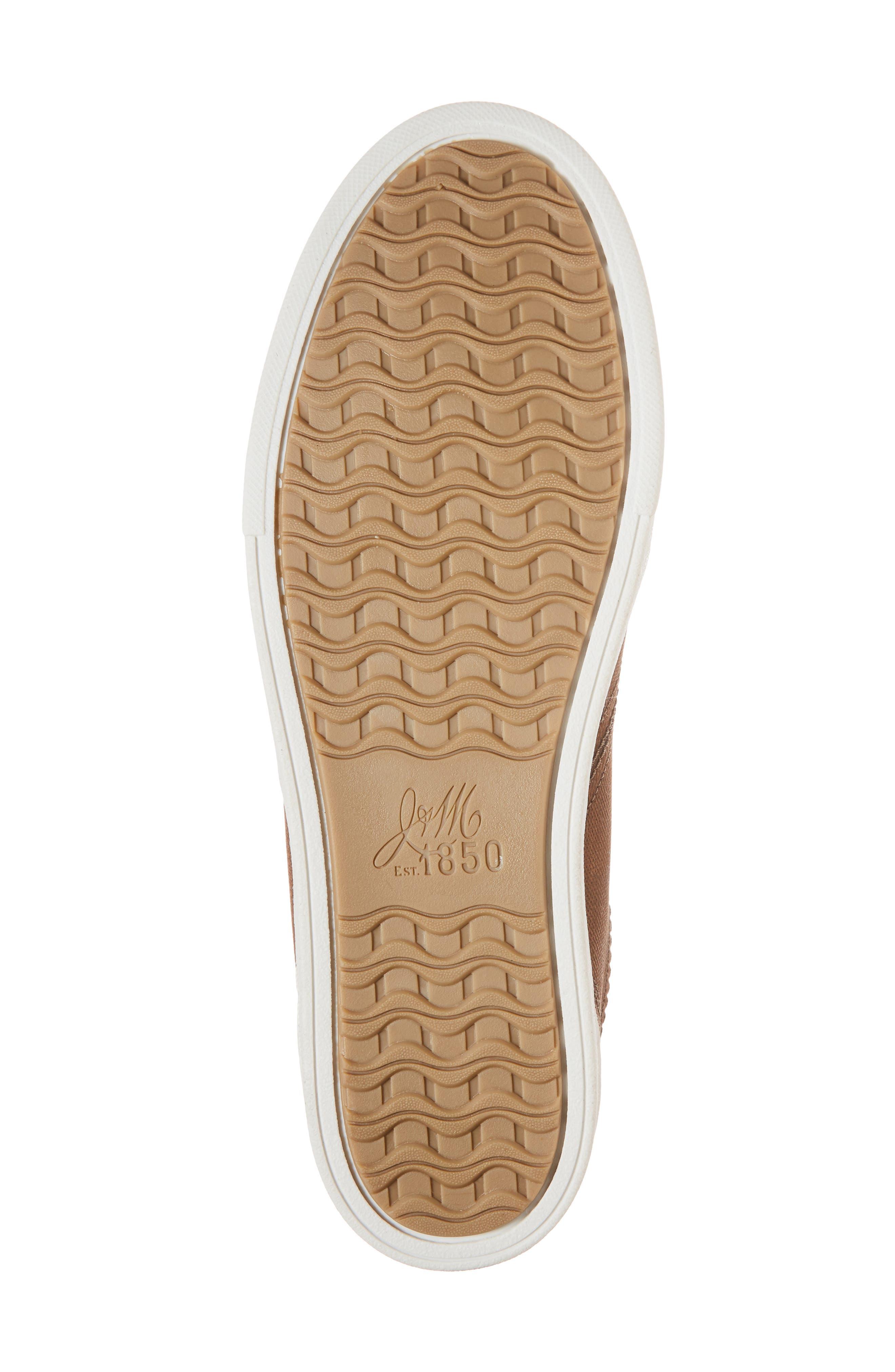 Quinton Textured Low Top Sneaker,                             Alternate thumbnail 6, color,                             Tan Leather