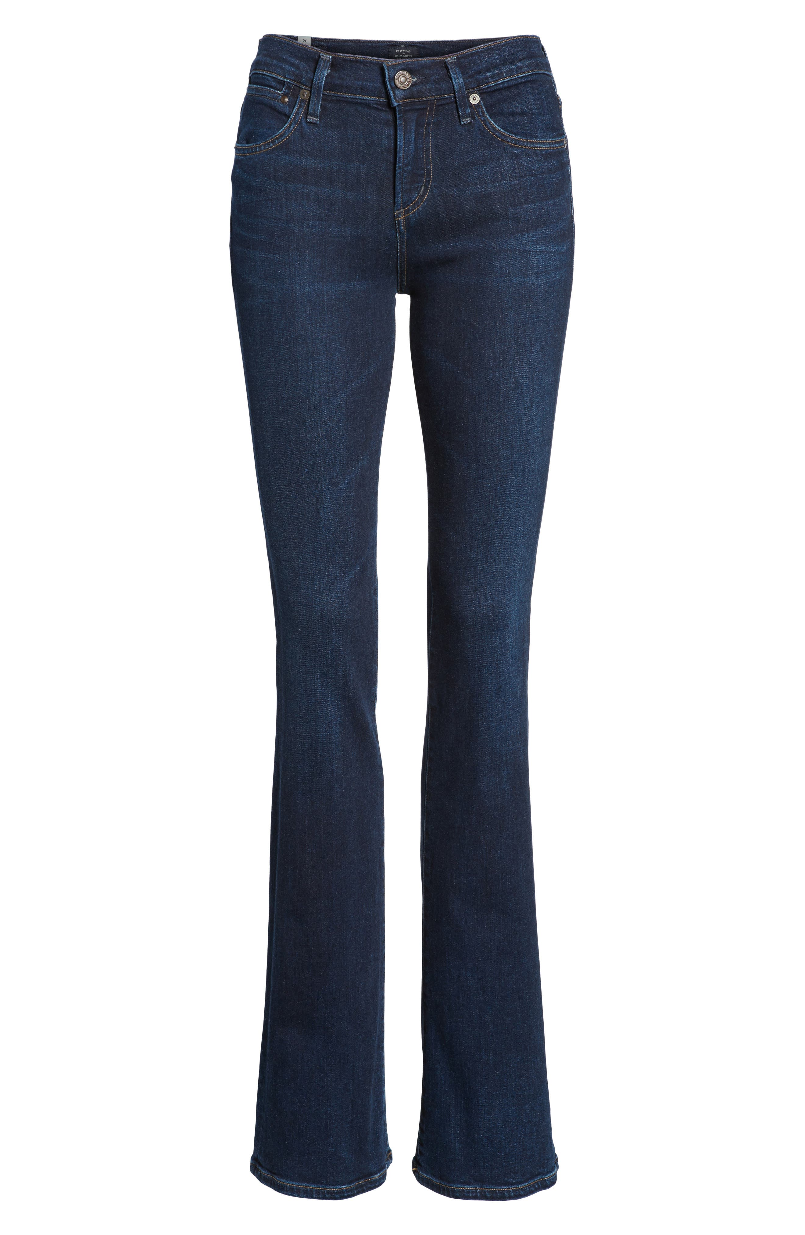 Emannuelle Bootcut Jeans,                             Alternate thumbnail 7, color,                             Galaxy