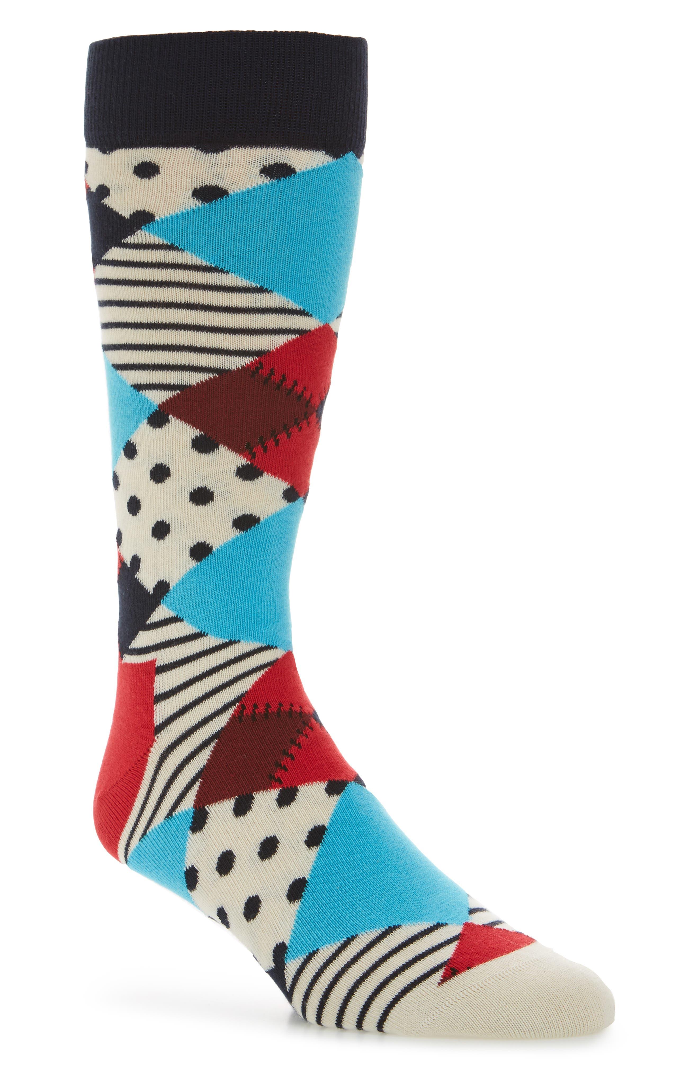 Happy Socks Multi Pattern Socks