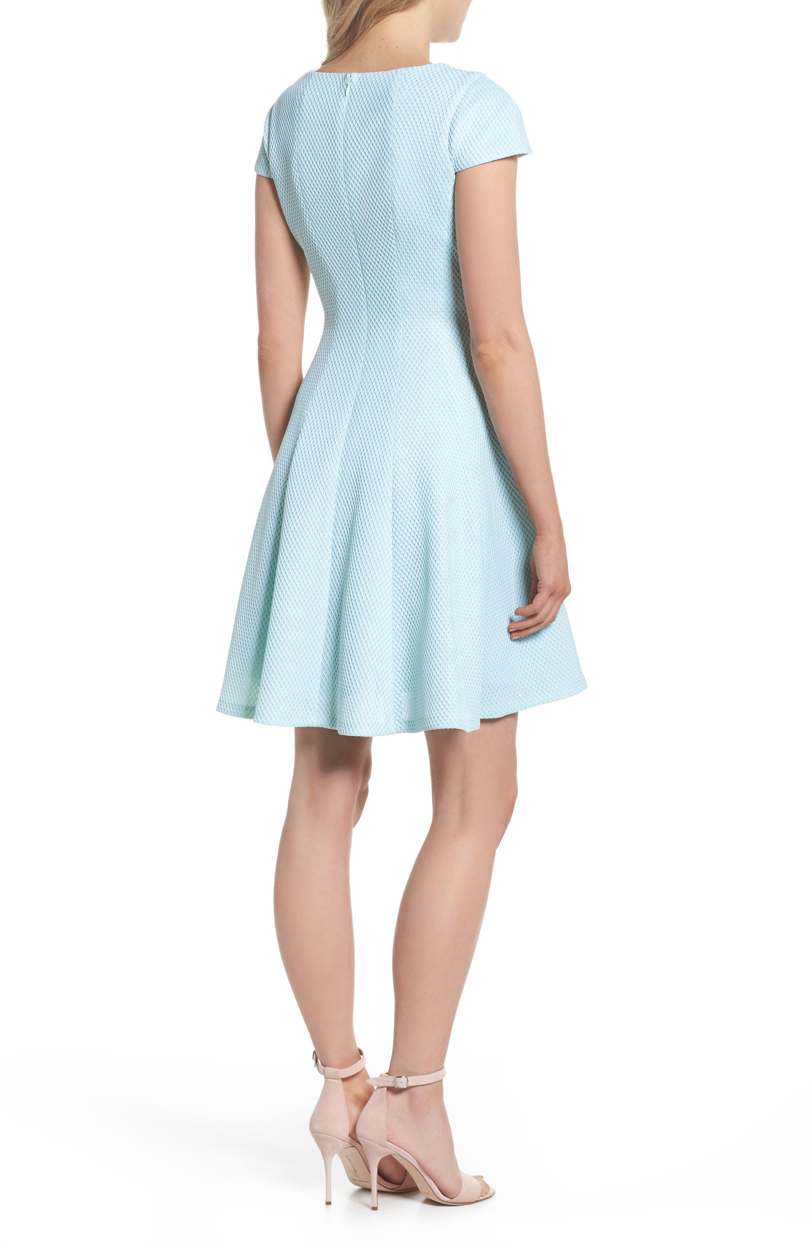 Alternate Image 2  - Julia Jordan Fit & Flare Dress