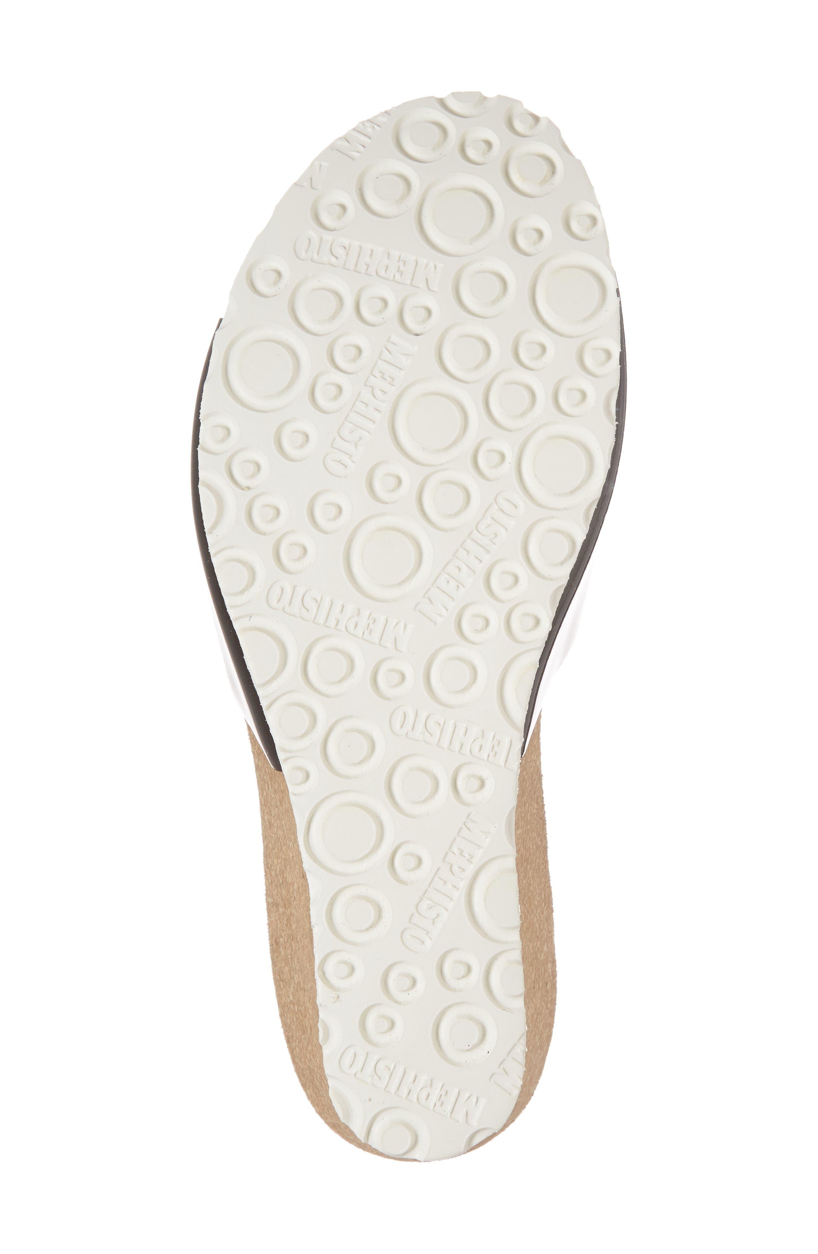 Lise Platform Wedge Sandal,                             Alternate thumbnail 6, color,                             Black
