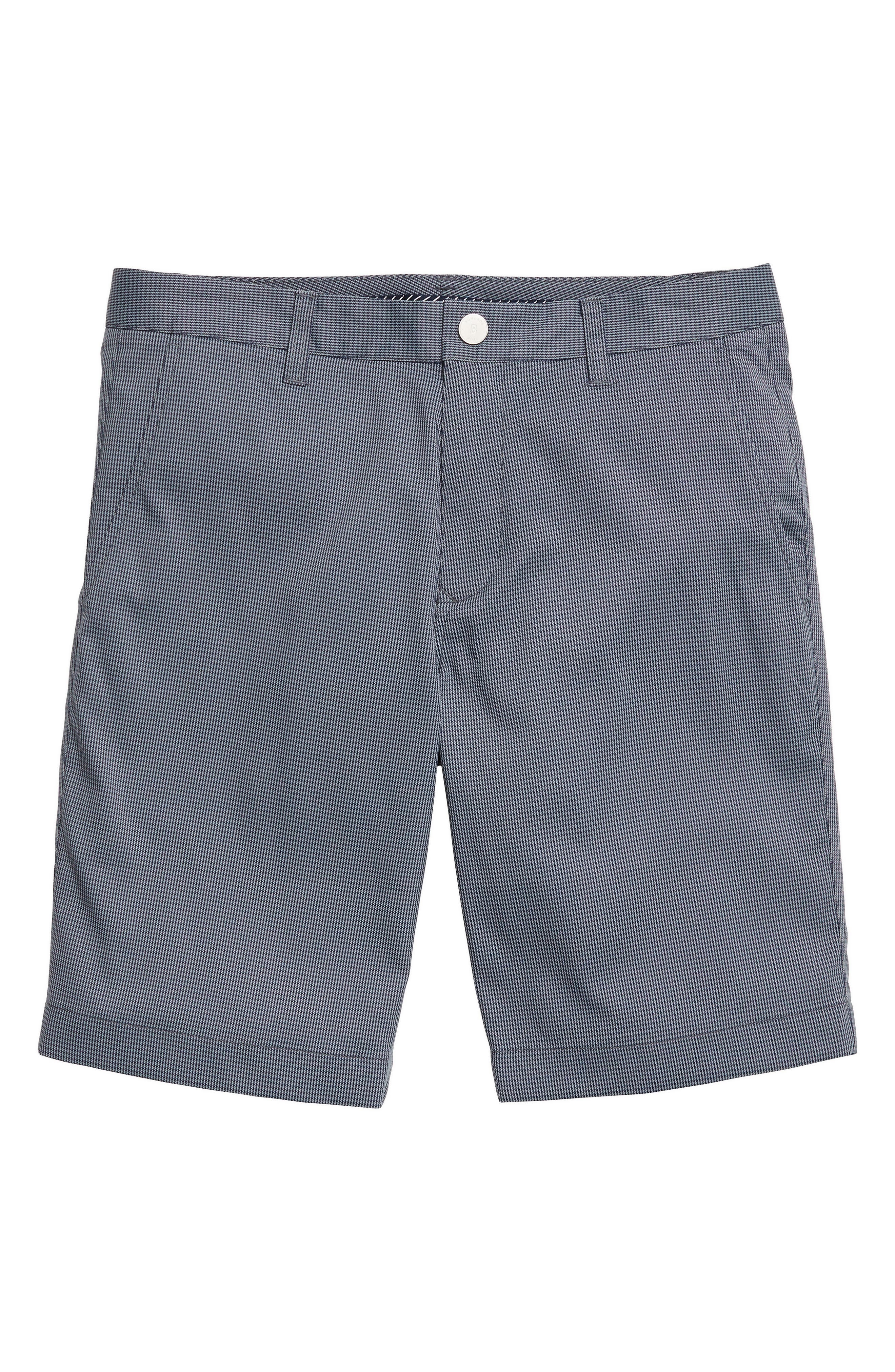 Highland Golf Shorts,                             Alternate thumbnail 3, color,                             Grey Minicheck