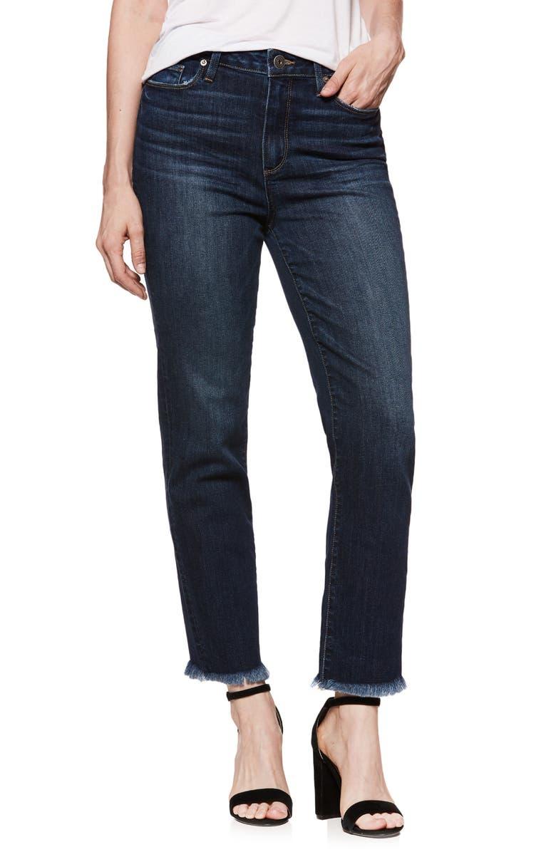 Hoxton Transcend Vintage High Waist Ankle Straight Leg Jeans