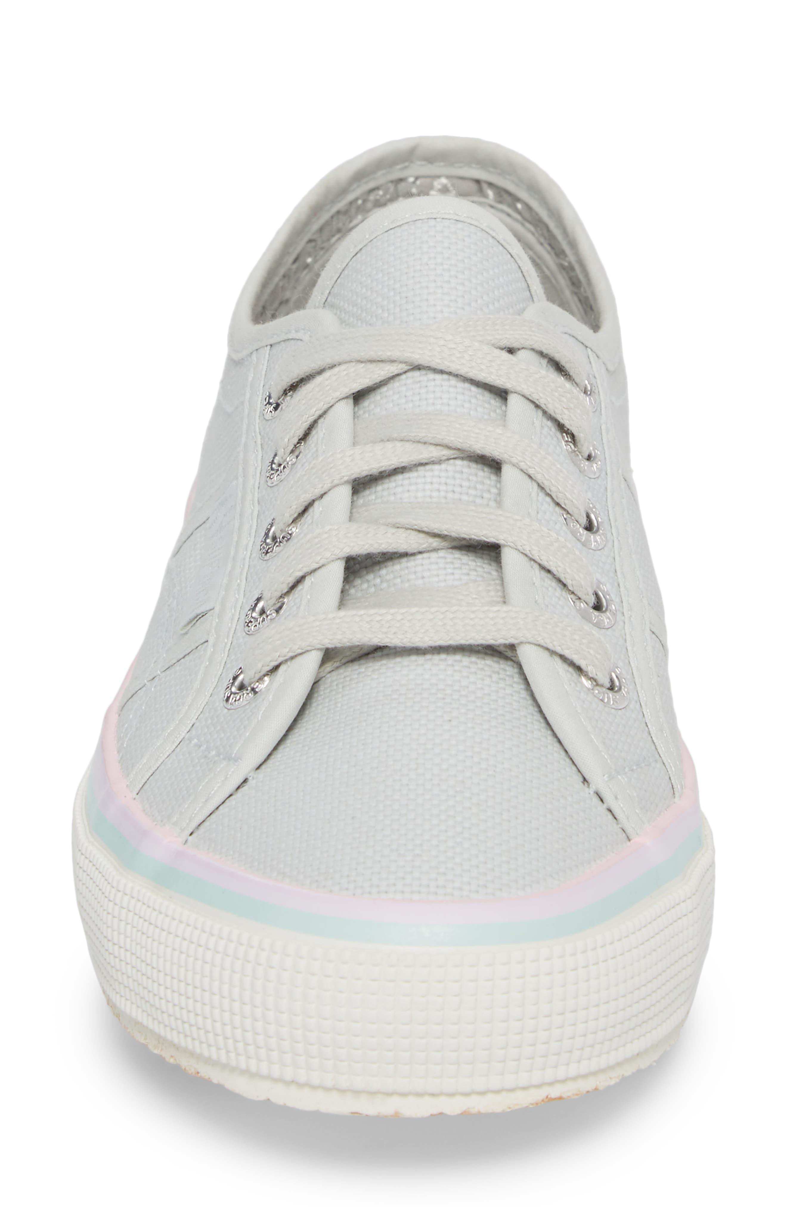 2750 Three-Stripe Sneaker,                             Alternate thumbnail 4, color,                             Aluminum