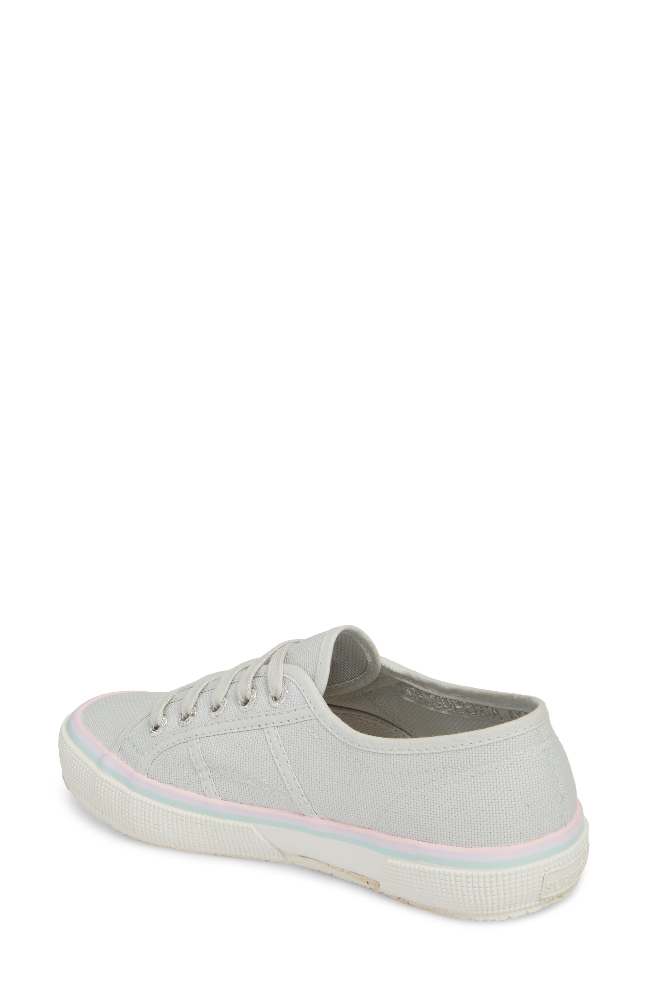 2750 Three-Stripe Sneaker,                             Alternate thumbnail 2, color,                             Aluminum