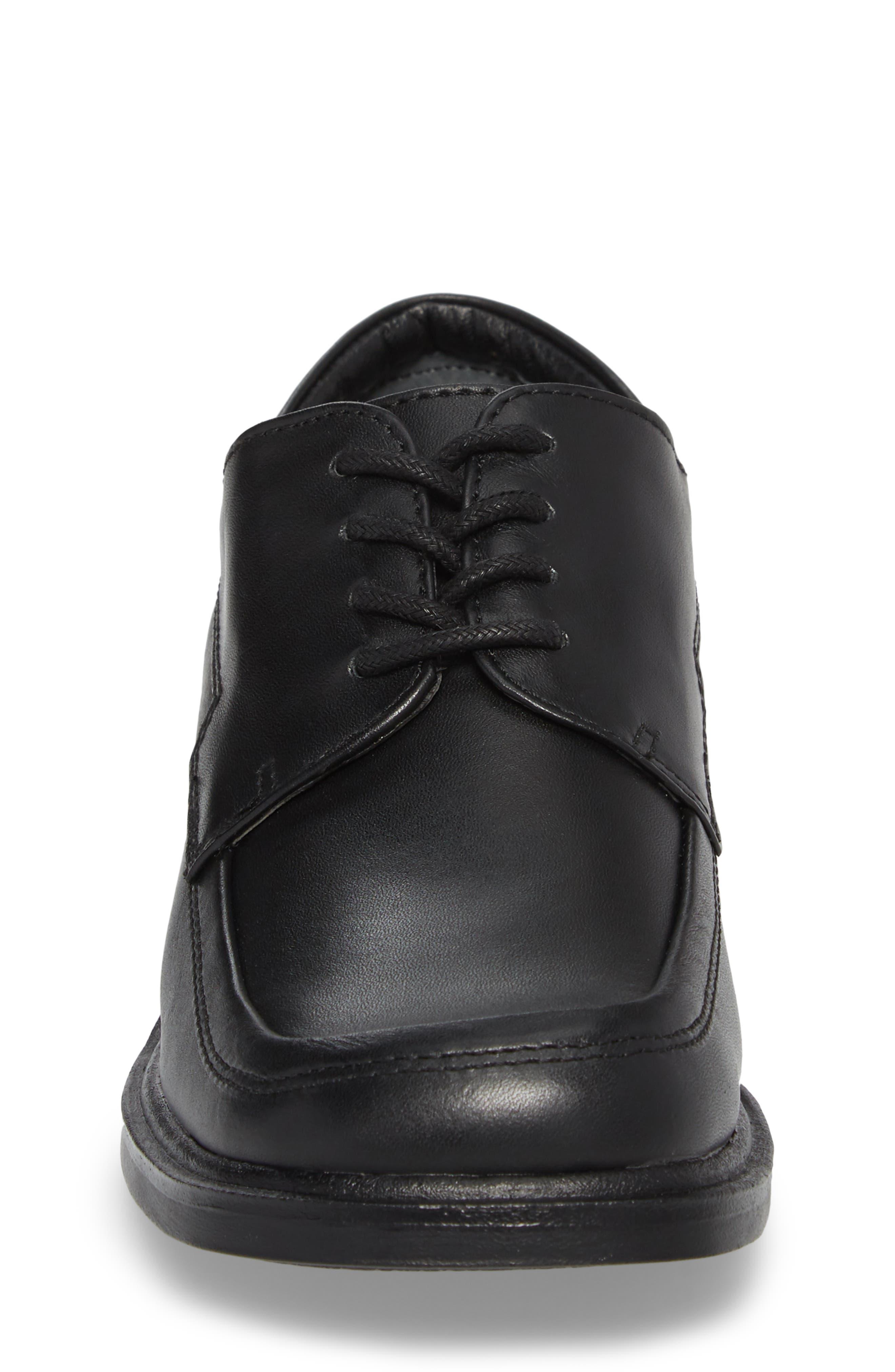 Reaction Kenneth Cole 'T-Flex Senior' Oxford,                             Alternate thumbnail 4, color,                             Black/ Black Leather