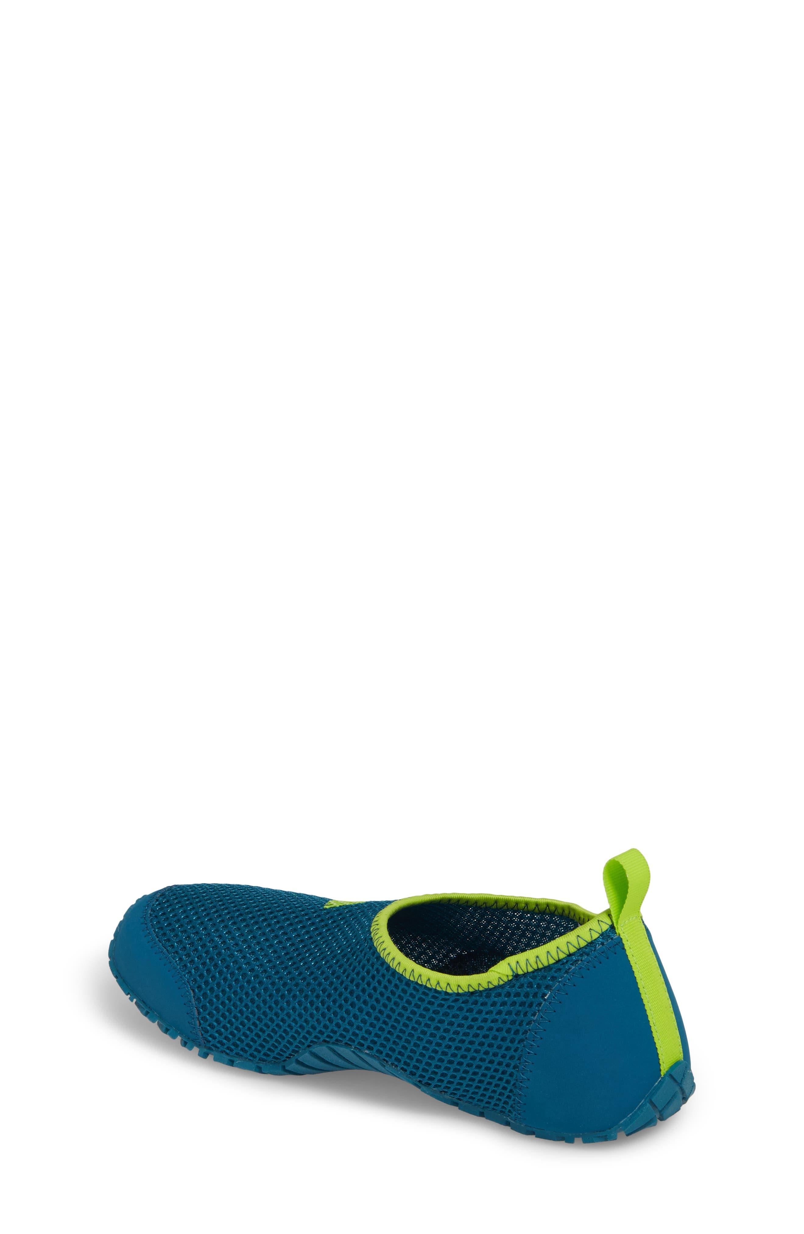 Kurobe Mesh Slip-On Water Shoe,                             Alternate thumbnail 2, color,                             Teal/ Petrol Night/ Solar