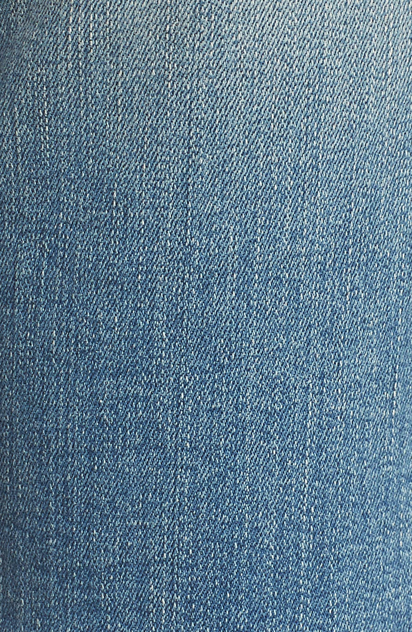 The High Waist Straight Jeans,                             Alternate thumbnail 6, color,                             Joey Medium