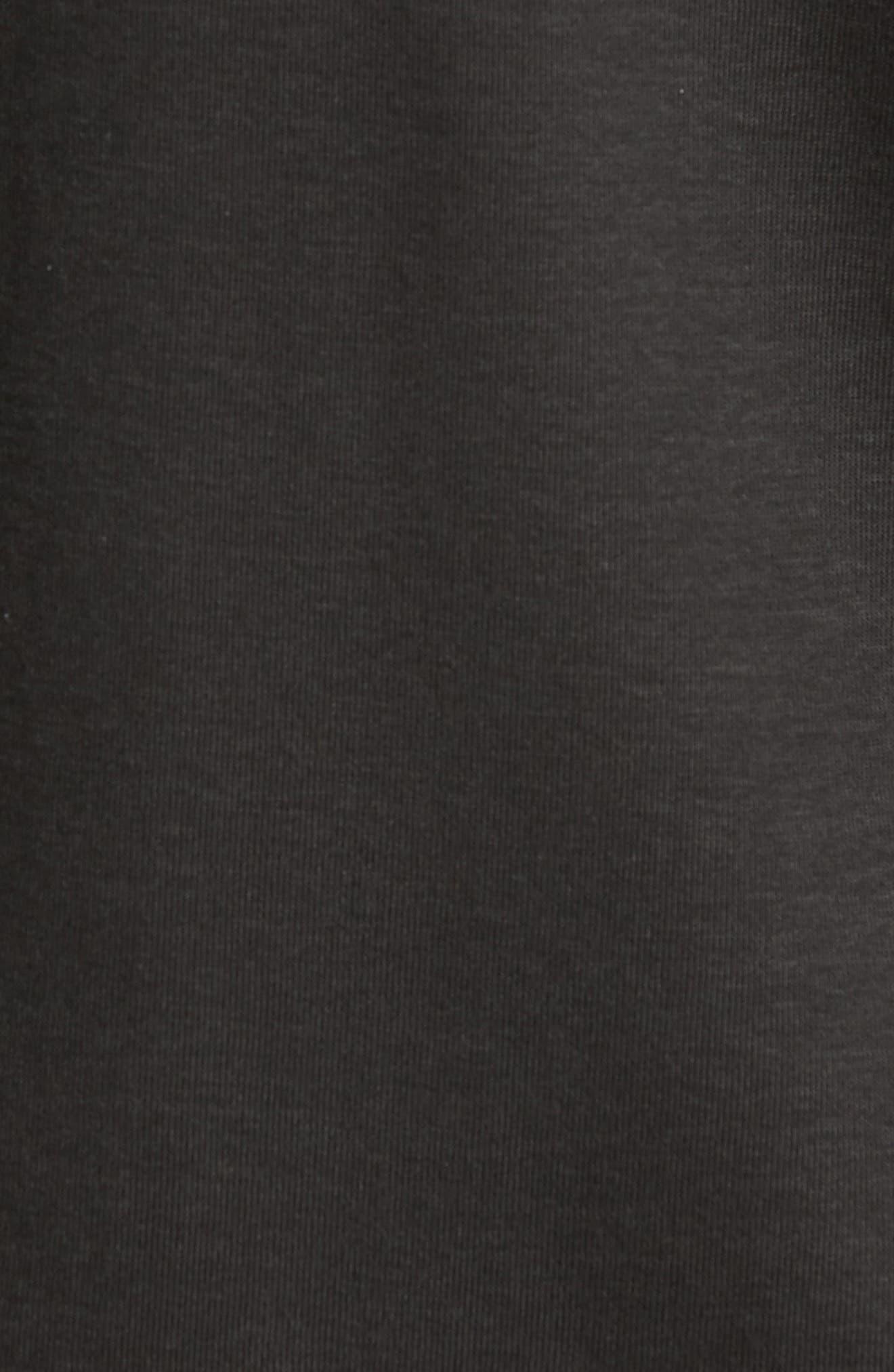 Dual in the Sun Reversible T-Shirt,                             Alternate thumbnail 5, color,                             Black