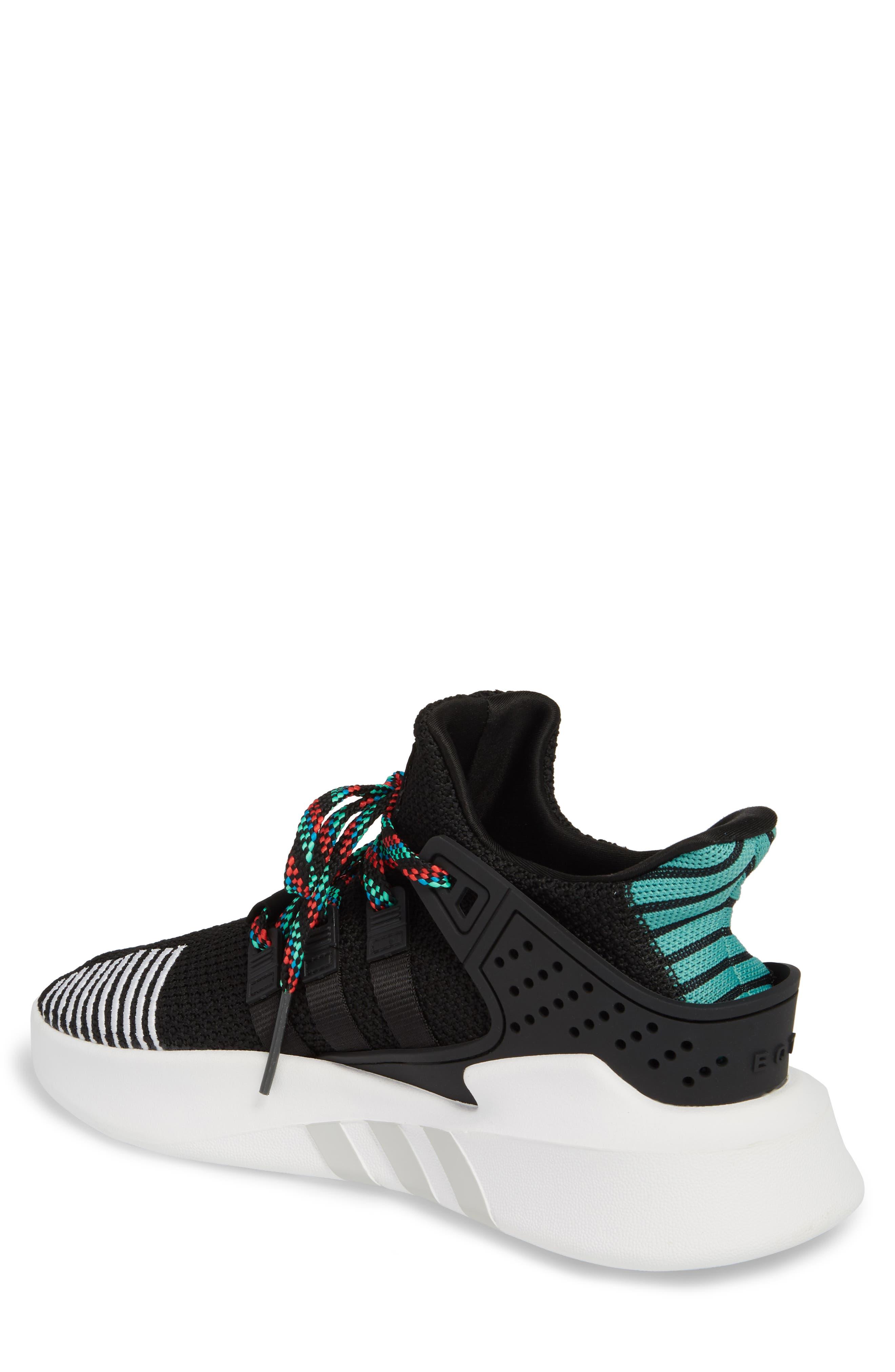 EQT Basketball ADV Sneaker,                             Alternate thumbnail 2, color,                             Core Black/ Sub Green