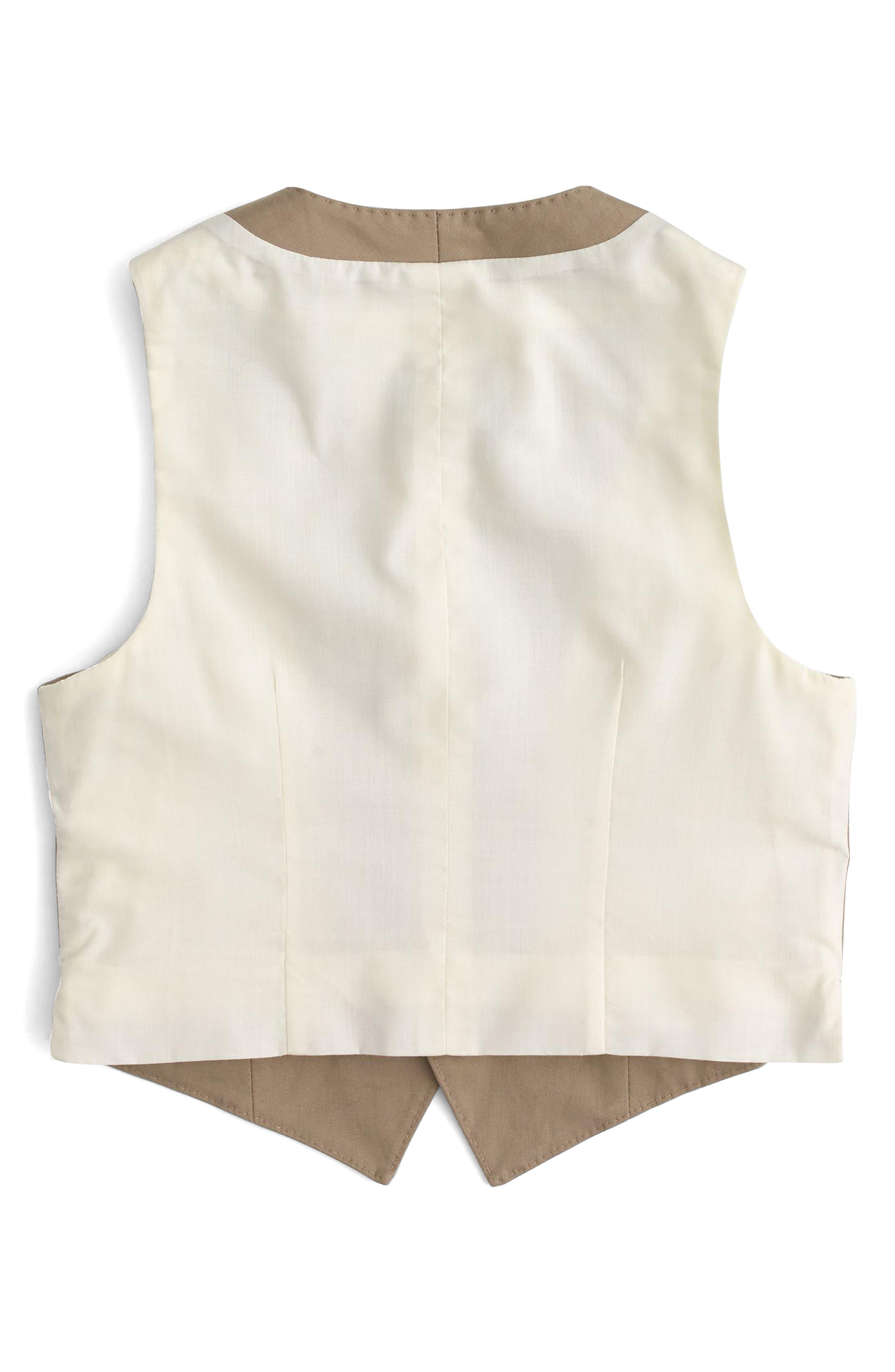 Alternate Image 2  - crewcuts by J.Crew Ludlow Suit Vest (Toddler Boys, Little Boys & Big Boys)