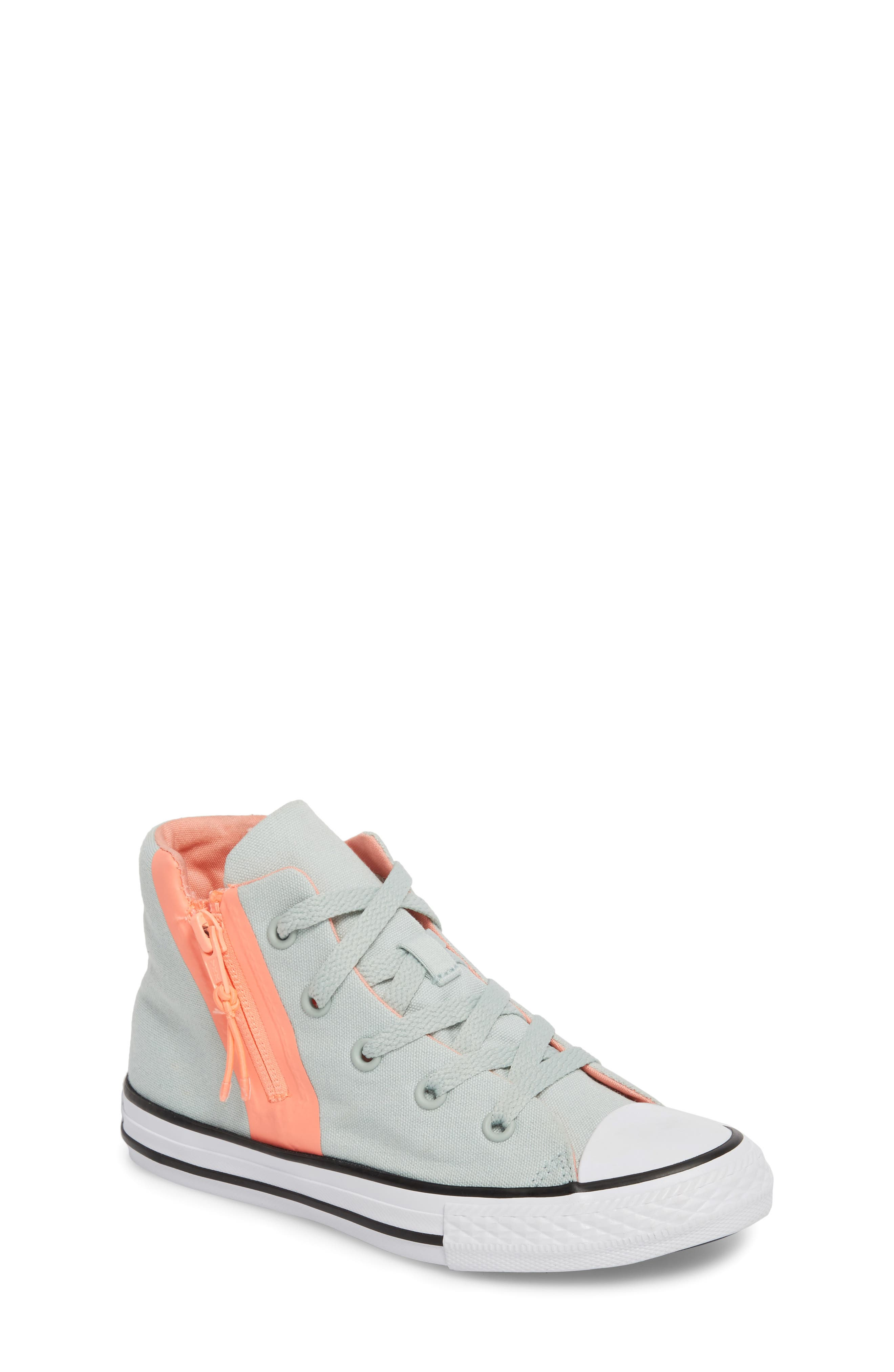 Converse Chuck Taylor® All Star® Sport Zip High Top Sneaker (Toddler, Little