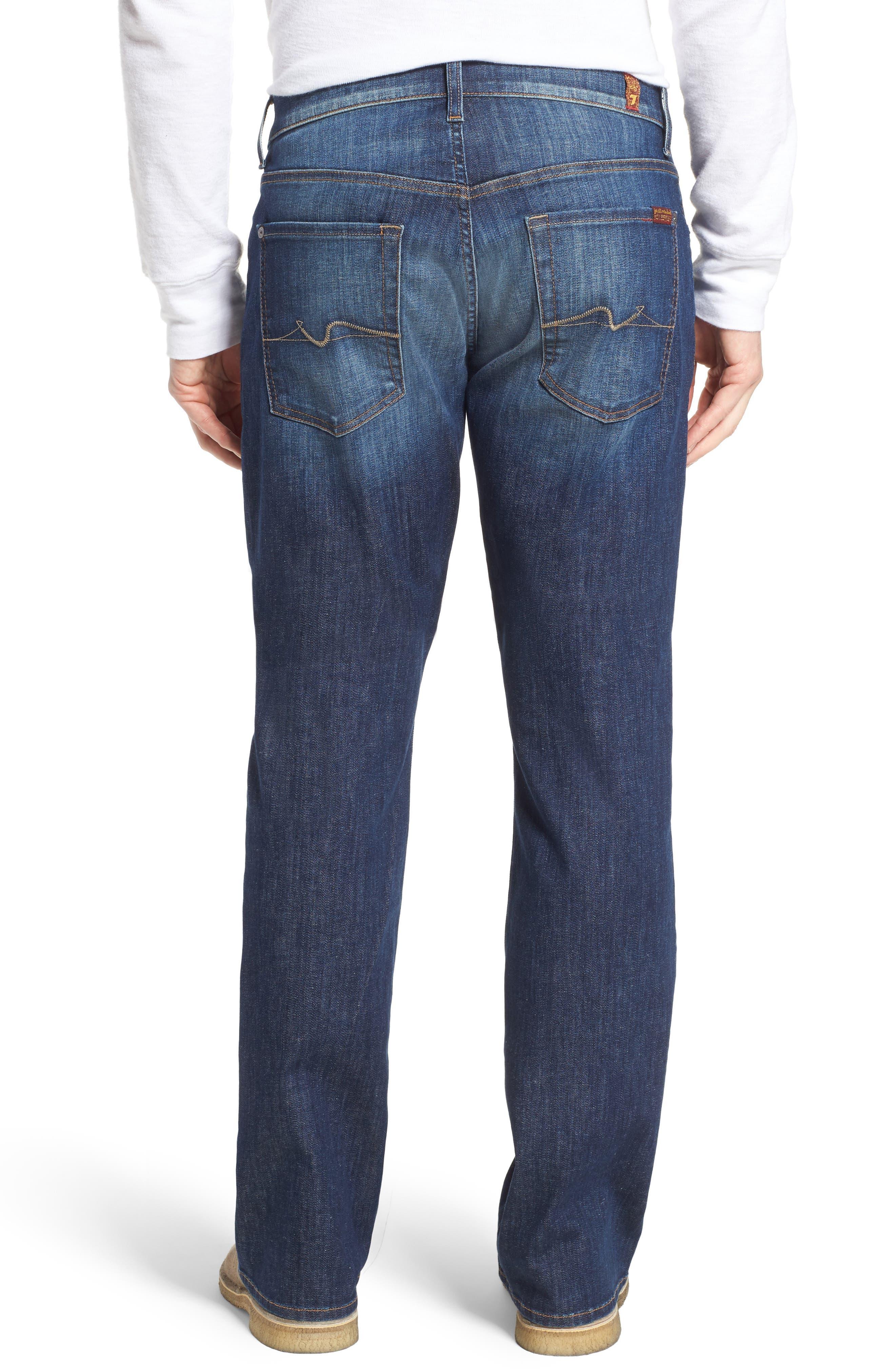 Brett Bootcut Jeans,                             Alternate thumbnail 2, color,                             West Indies