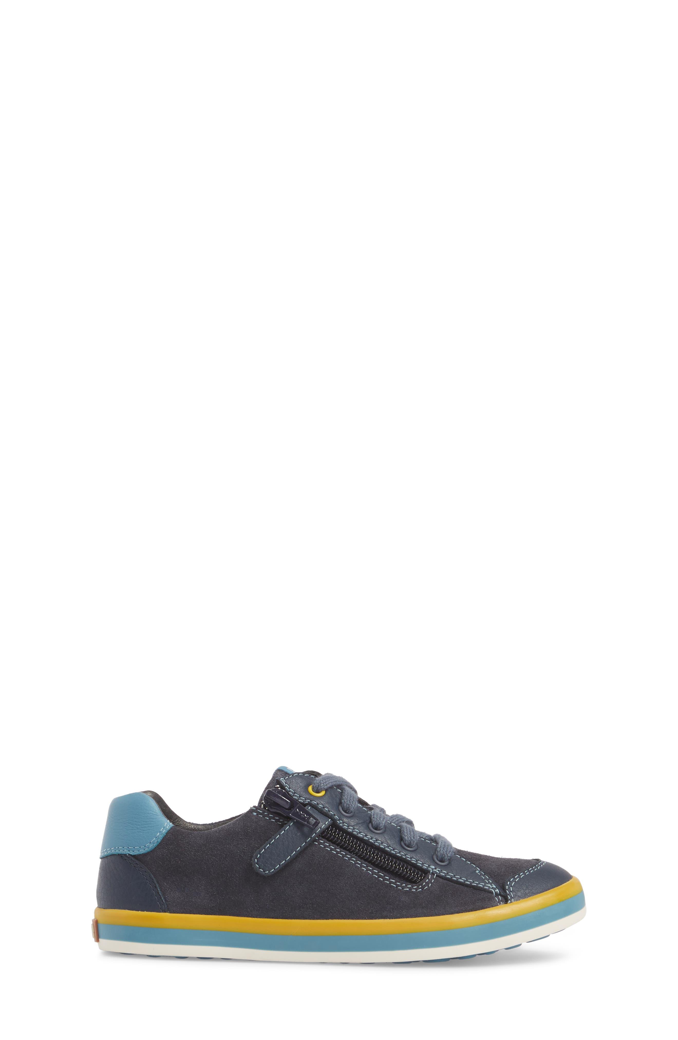 Pursuit Sneaker,                             Alternate thumbnail 3, color,                             Blue