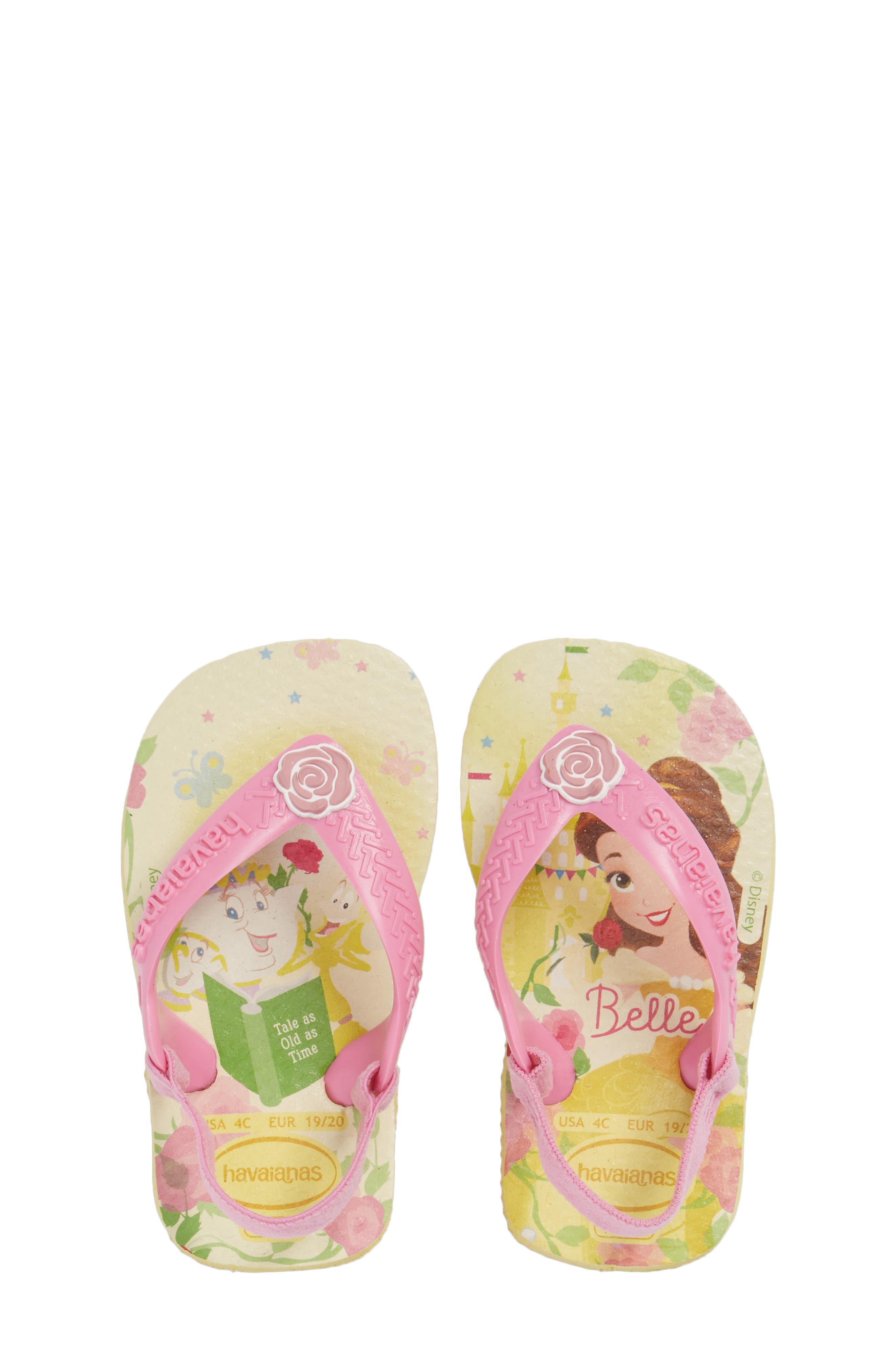 Havaianas Baby Disney® Princess Flip Flop (Baby & Walker)