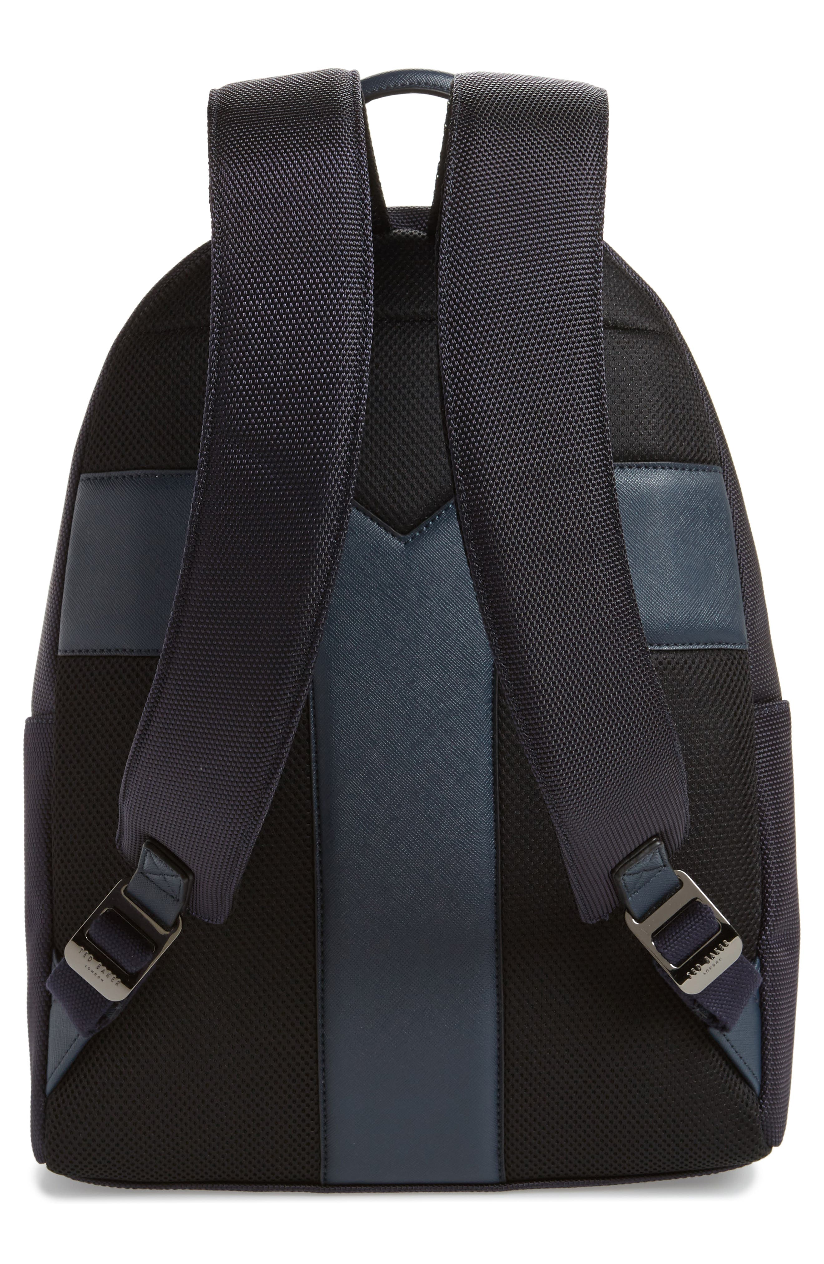 Brakes Backpack,                             Alternate thumbnail 3, color,                             Navy