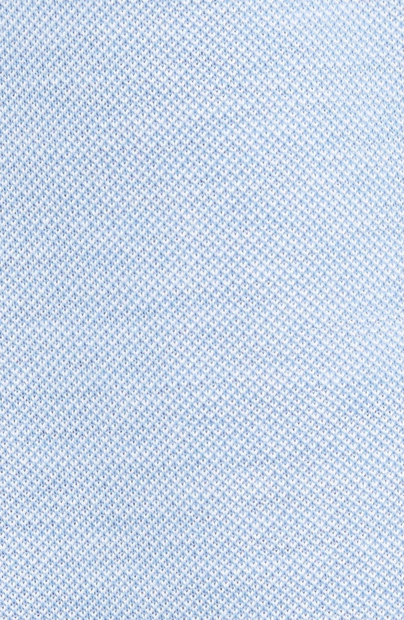 Piqué Polo Shirt,                             Alternate thumbnail 5, color,                             Sky Blue