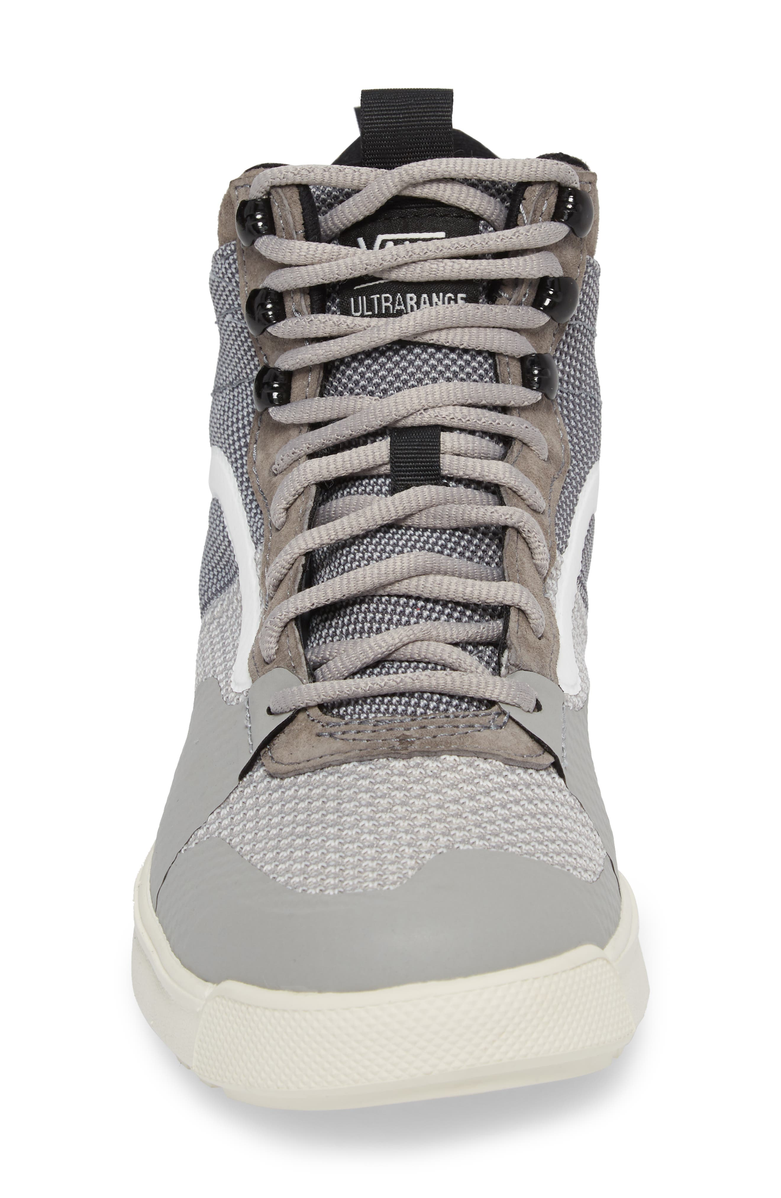 UltraRange DX High Top Sneaker,                             Alternate thumbnail 4, color,                             Pewter/ Drizzle