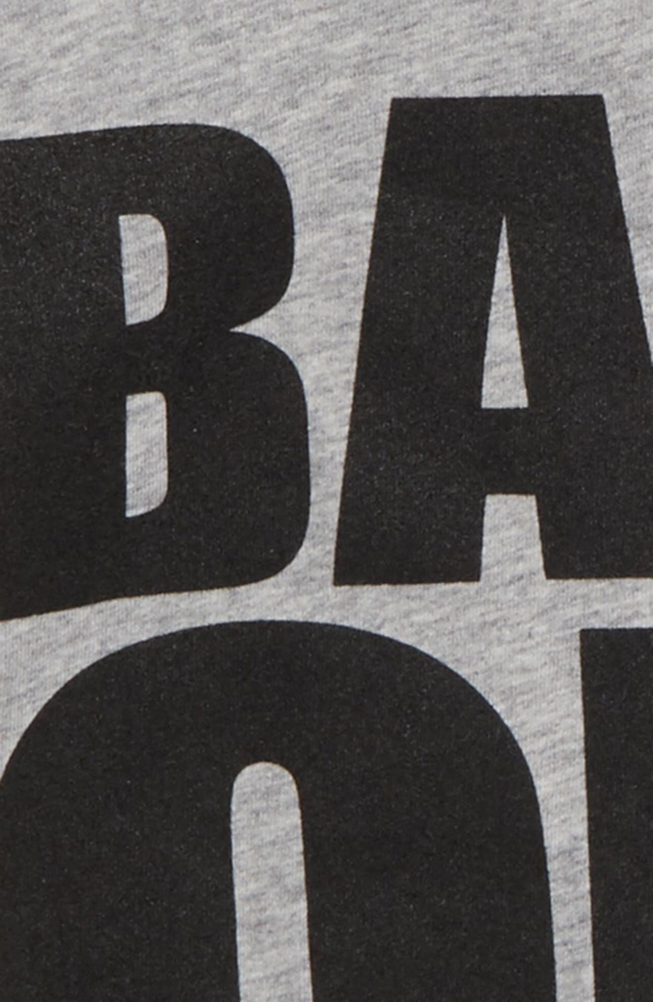 Back Off Graphic T-Shirt,                             Alternate thumbnail 2, color,                             Heather Grey