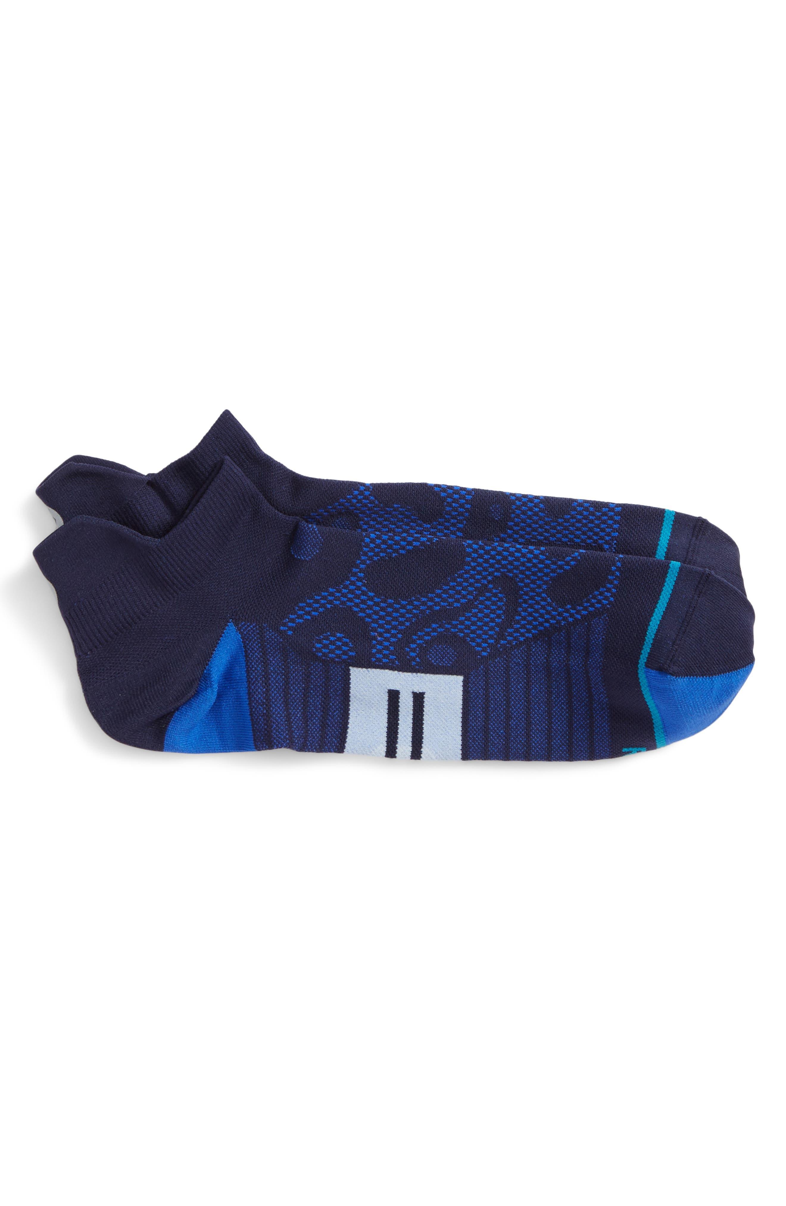 Papago Tab Socks,                         Main,                         color, Blue