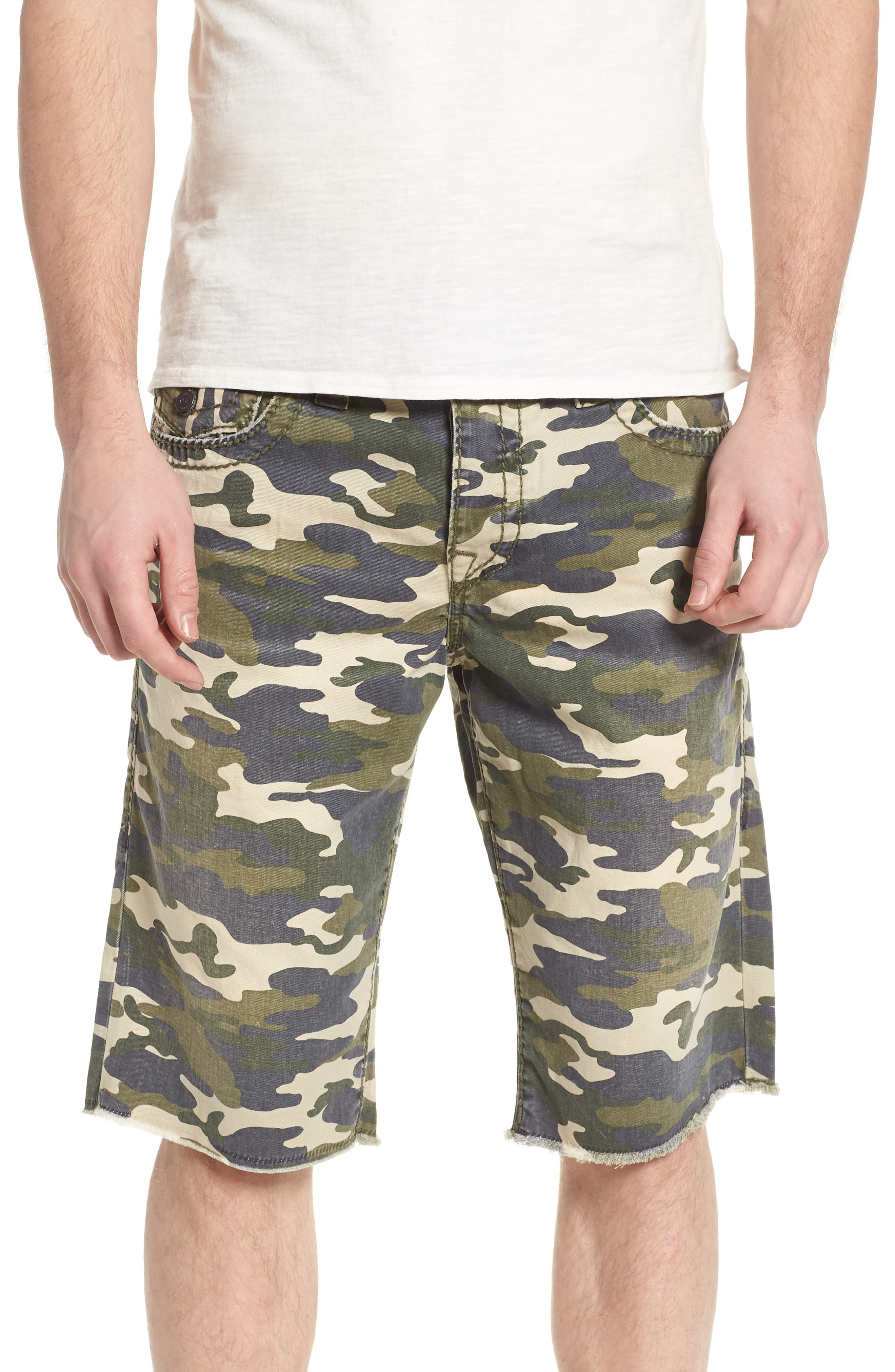 Ricky Relaxed Fit Shorts,                         Main,                         color, Epl Territory