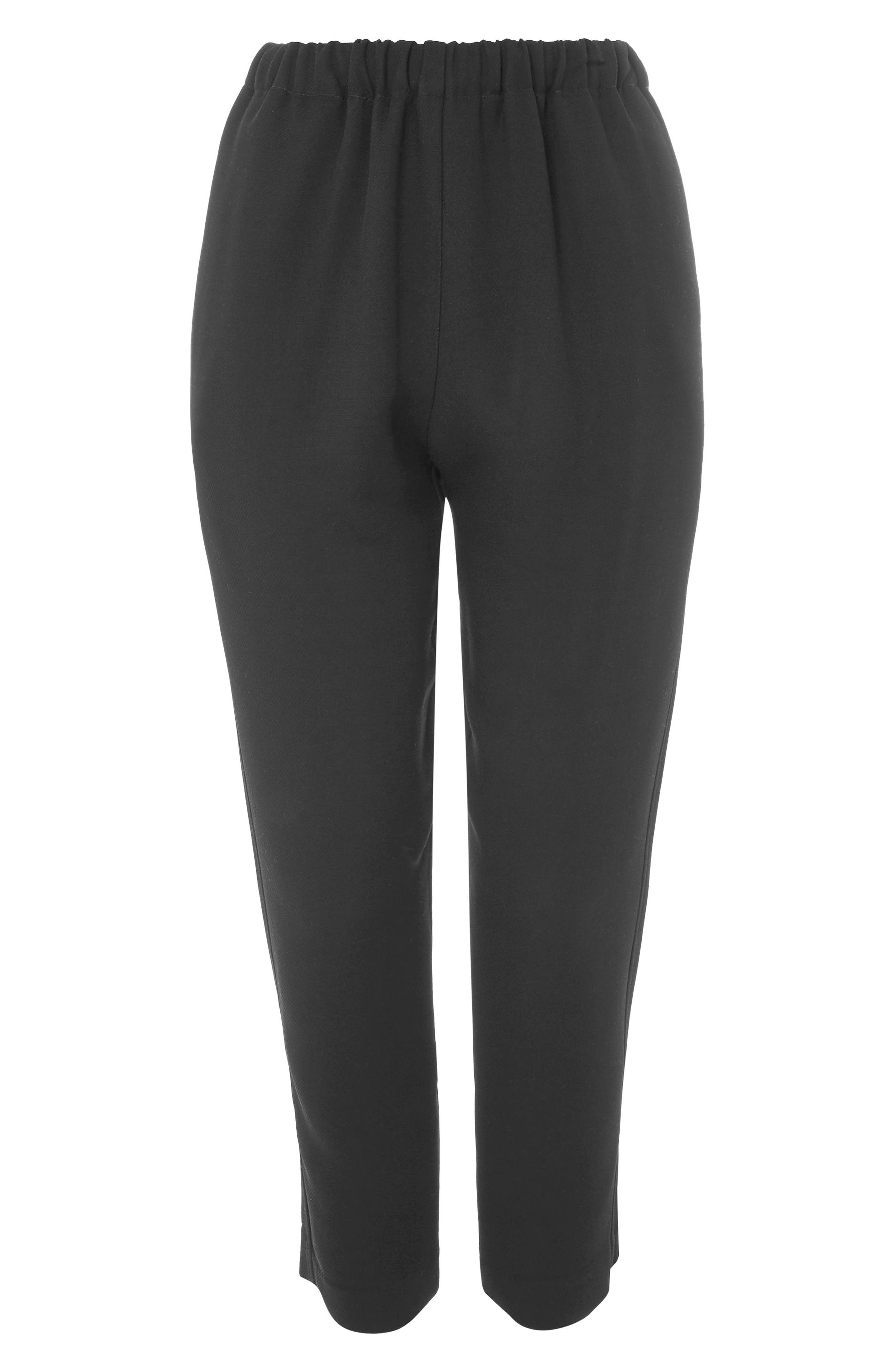 Alternate Image 5  - Topshop Boutique Drawcord Jogger Pants
