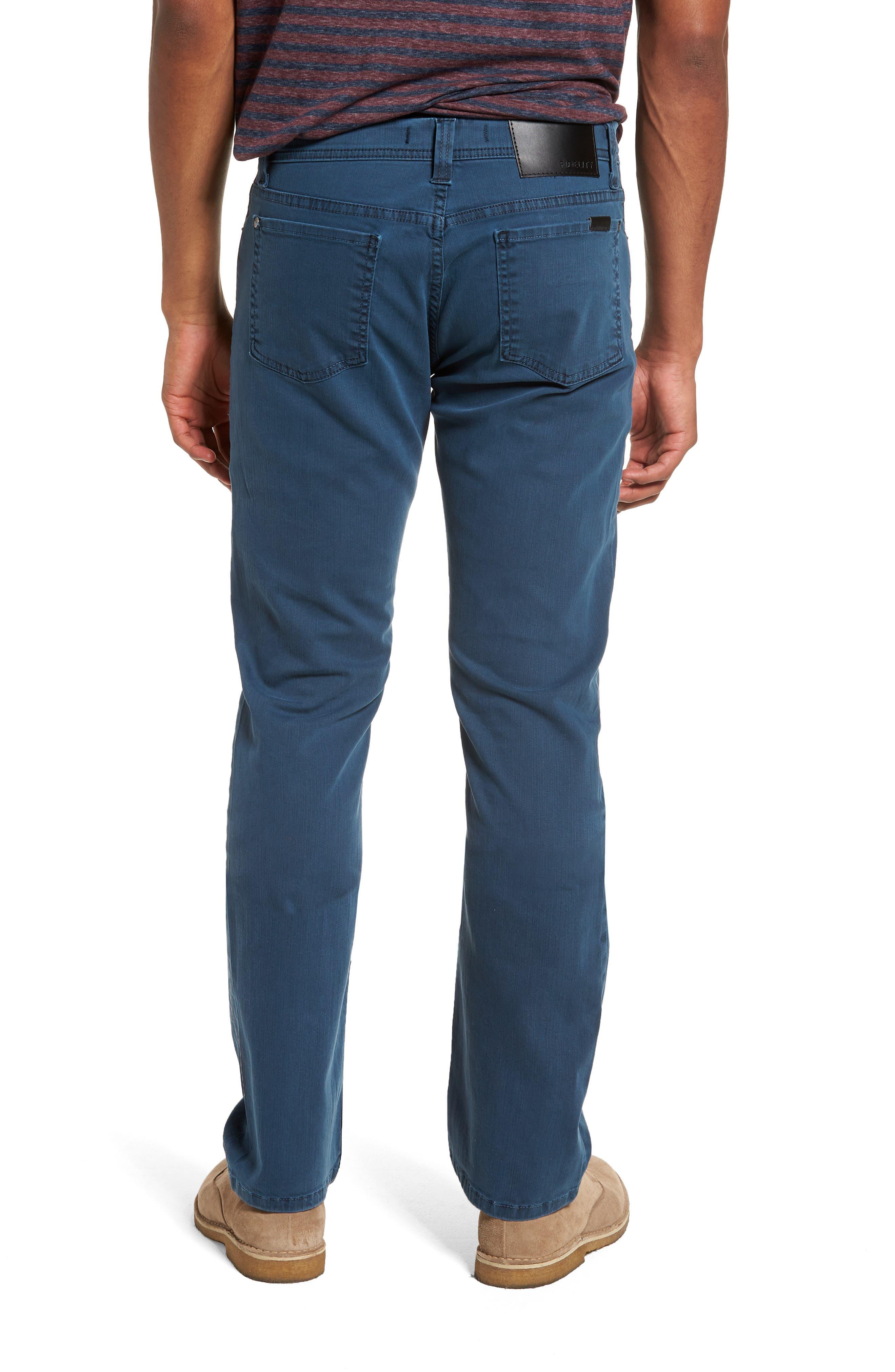 Jimmy Slim Straight Leg Jeans,                             Alternate thumbnail 2, color,                             Marina Blue