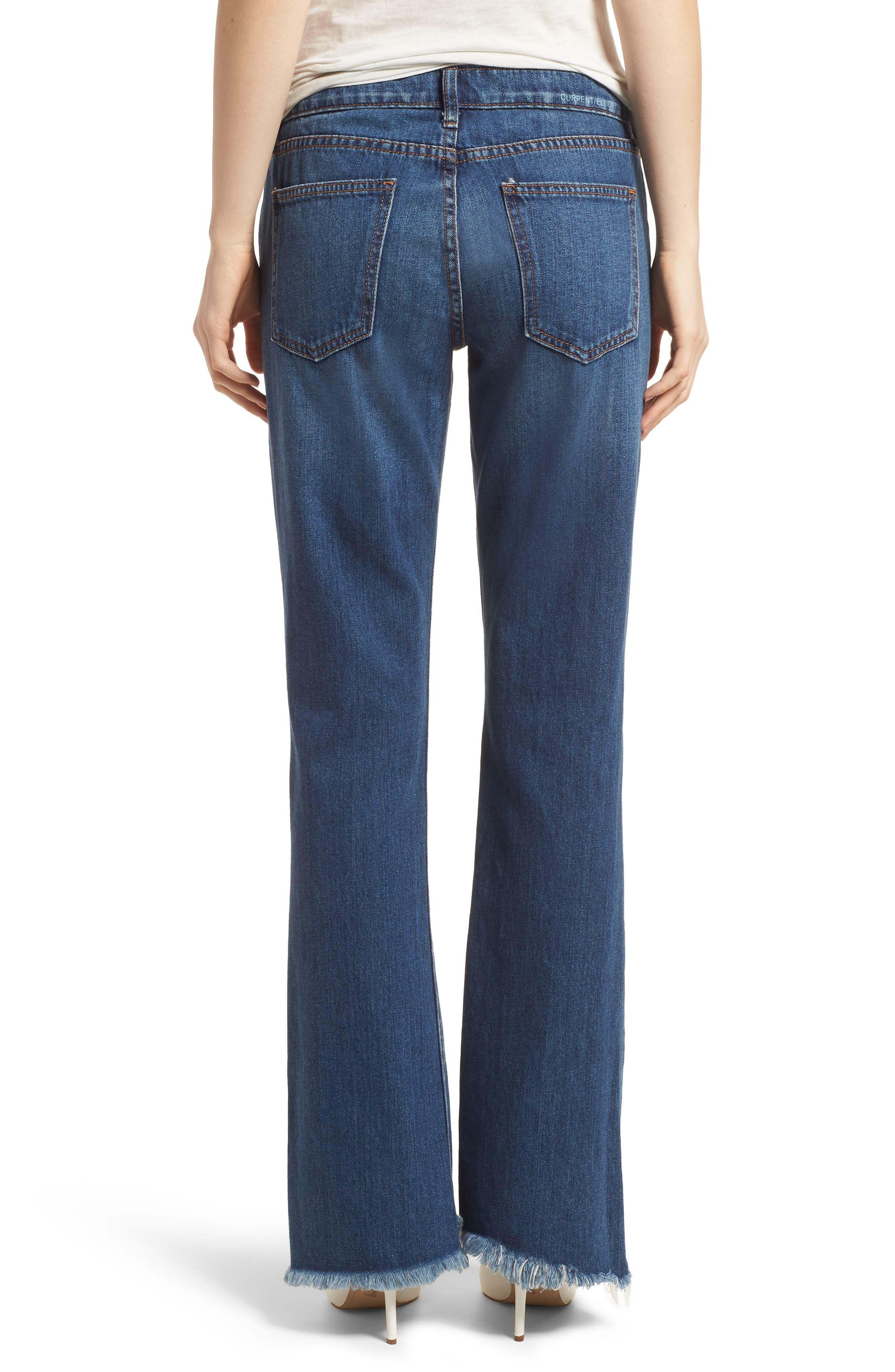 The Flip Flop Flare Jeans,                             Alternate thumbnail 2, color,                             Westry