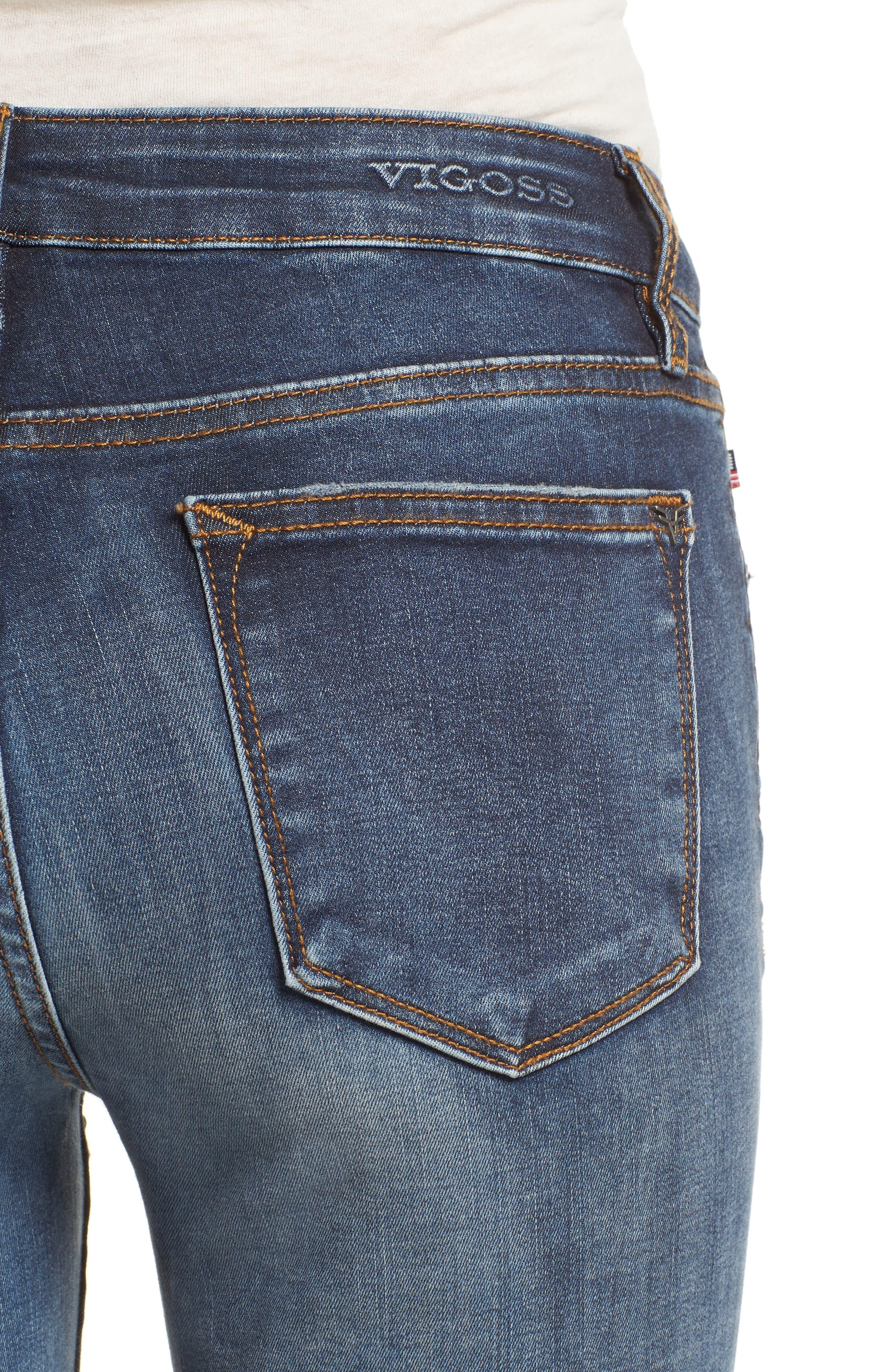 Alternate Image 4  - Vigoss Jagger Ripped Skinny Jeans