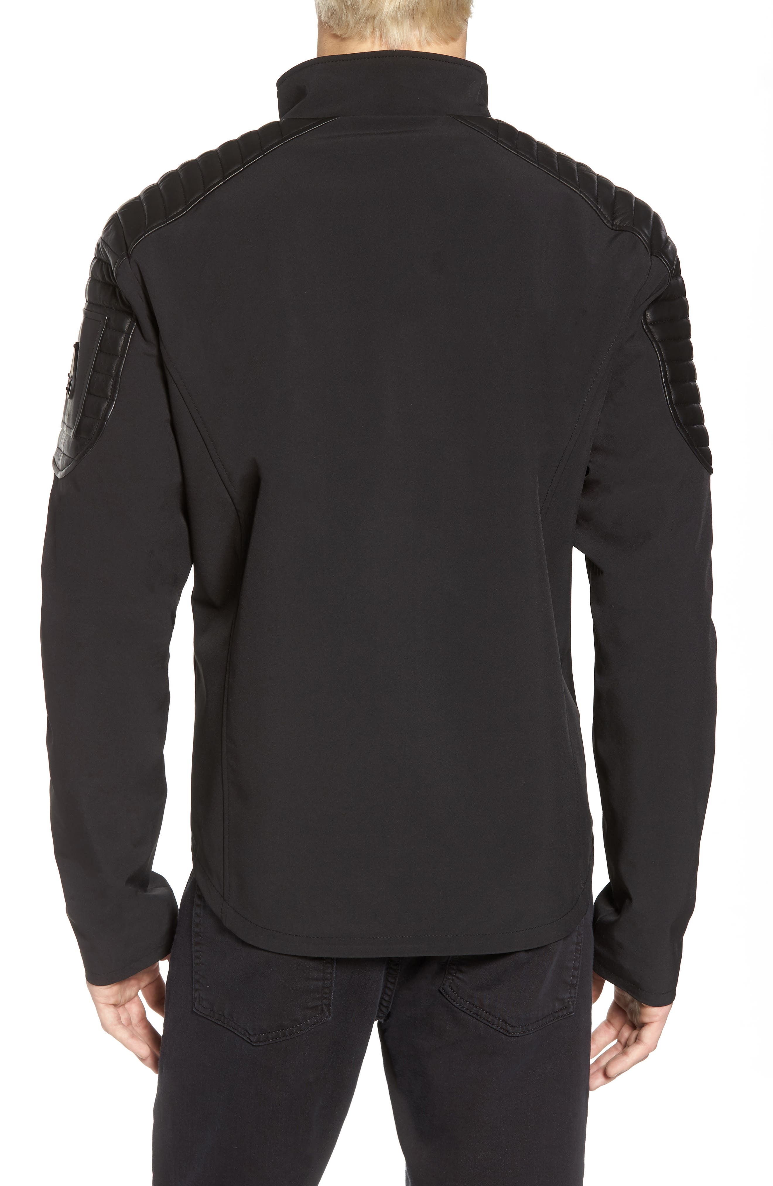 Grindstone Water Repellent Jacket,                             Alternate thumbnail 2, color,                             Black