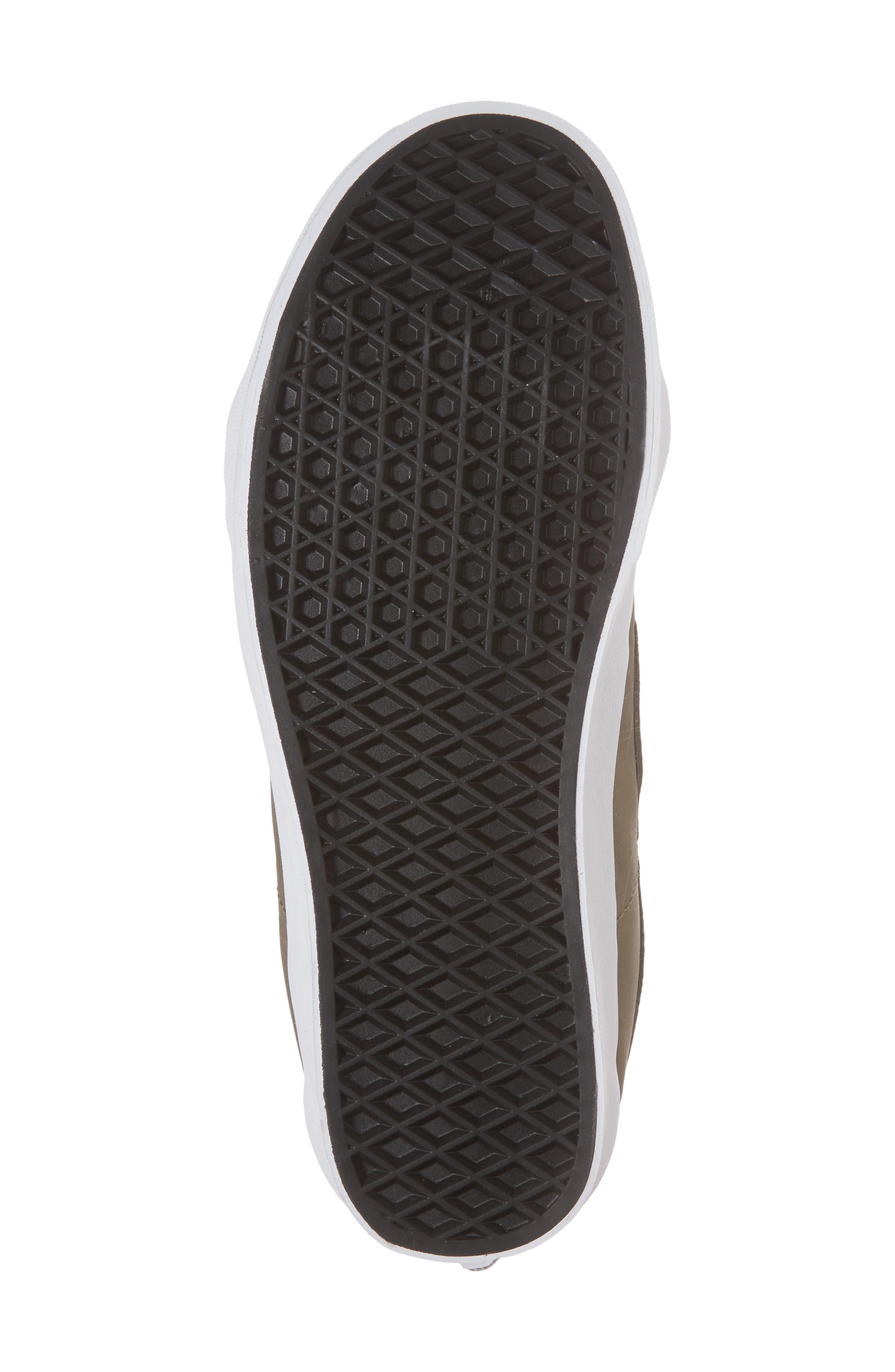 Sk8-Hi Reissue V Sneaker,                             Alternate thumbnail 6, color,                             Dusky Green Leather