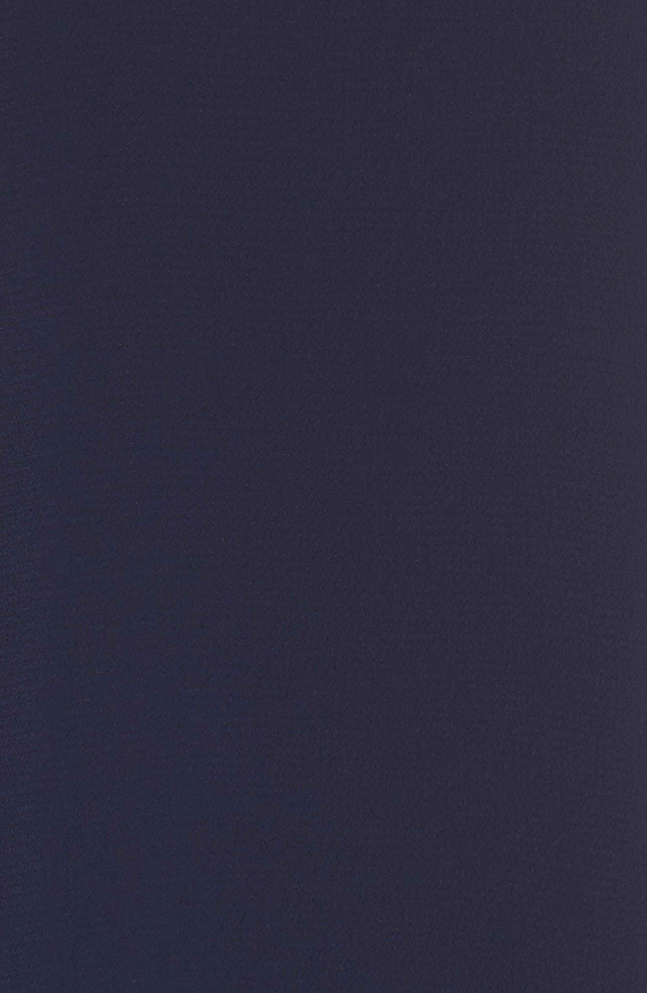 Cold Shoulder Shift Dress,                             Alternate thumbnail 6, color,                             Galaxy Blue