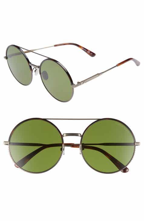 d530cebe01b Bottega Veneta 58mm Round Aviator Sunglasses