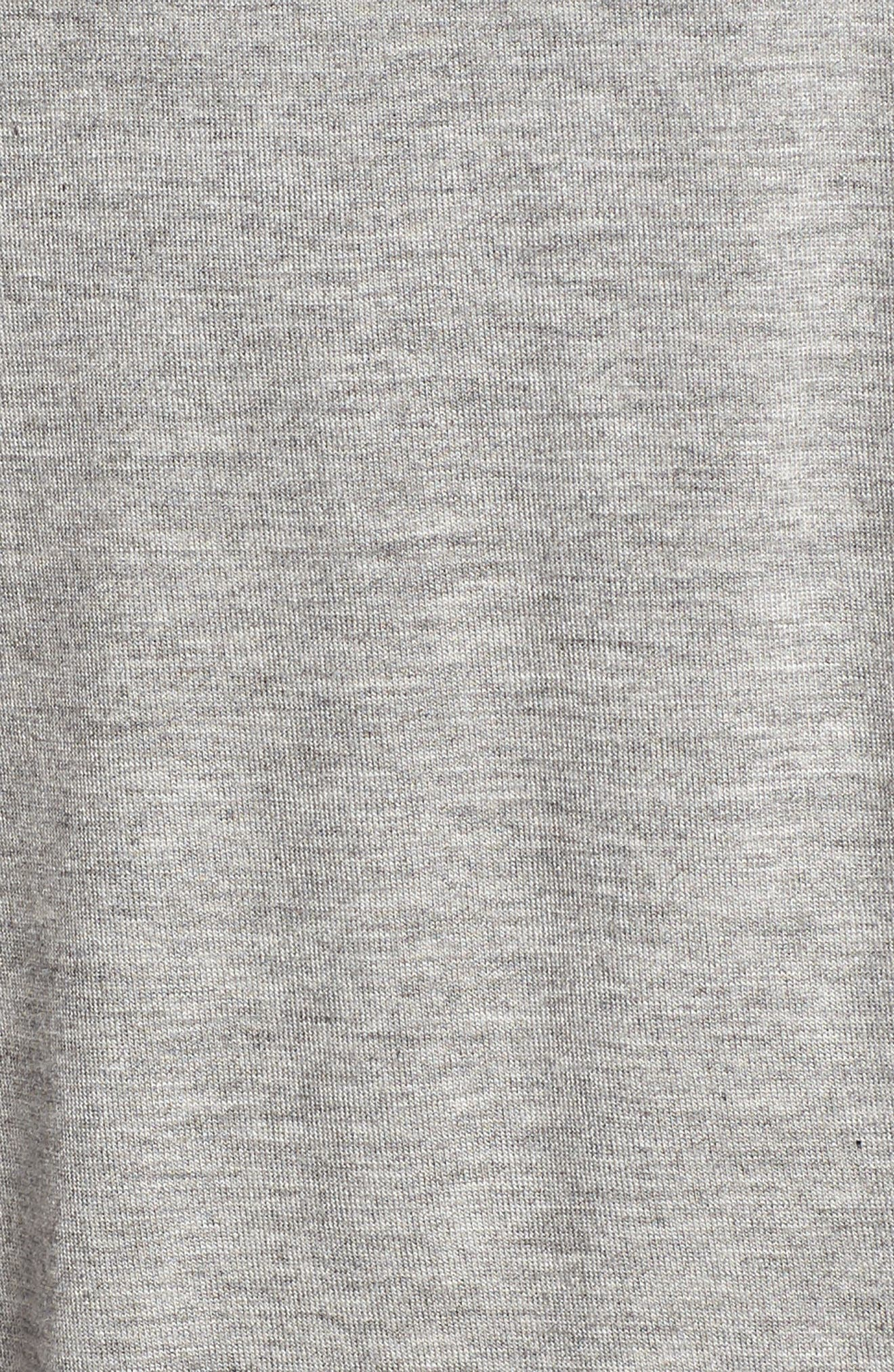 Drape Knit Tank,                             Alternate thumbnail 6, color,                             Grey