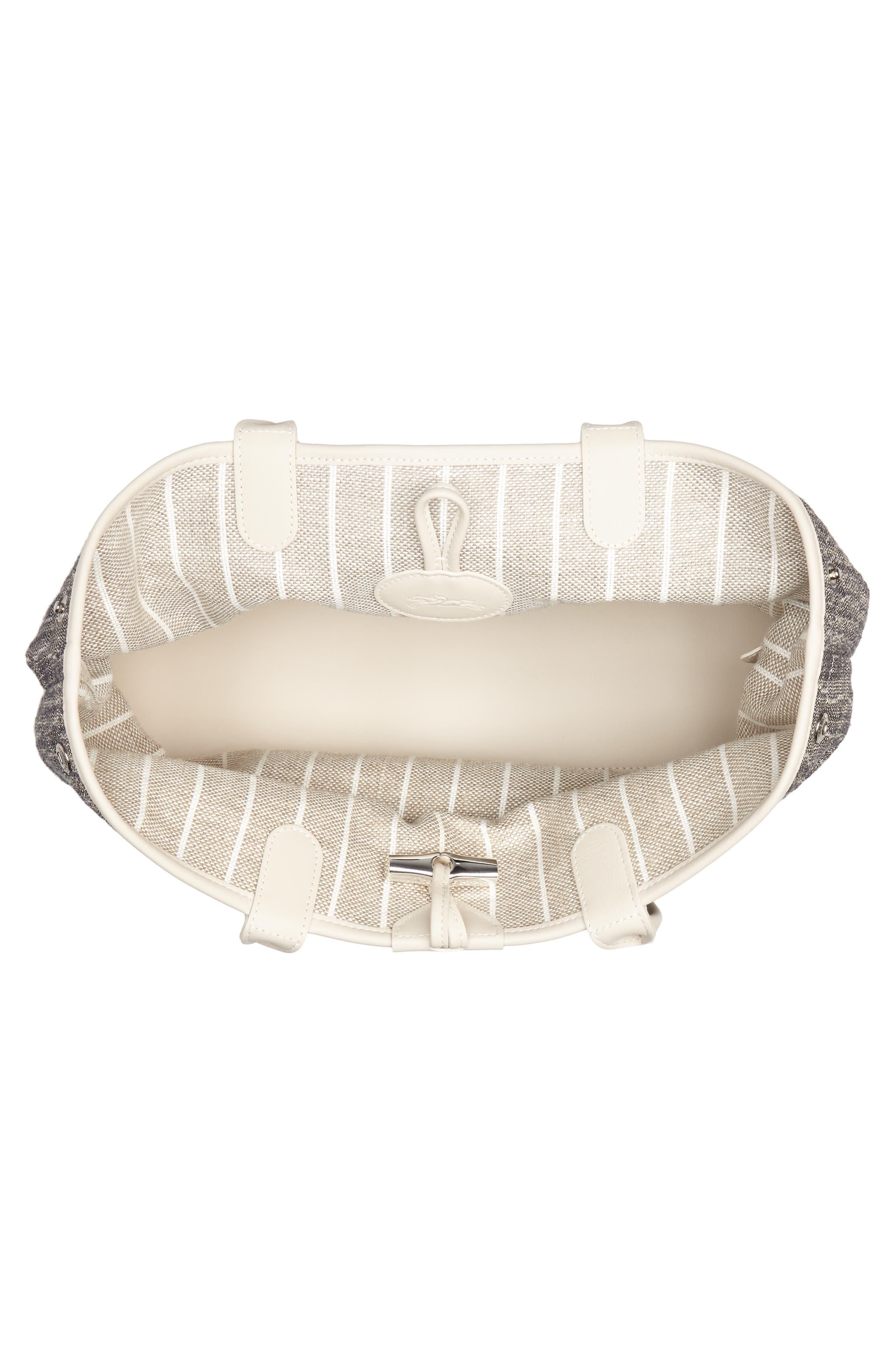 Alternate Image 4  - Longchamp Roseau Reversible Tote