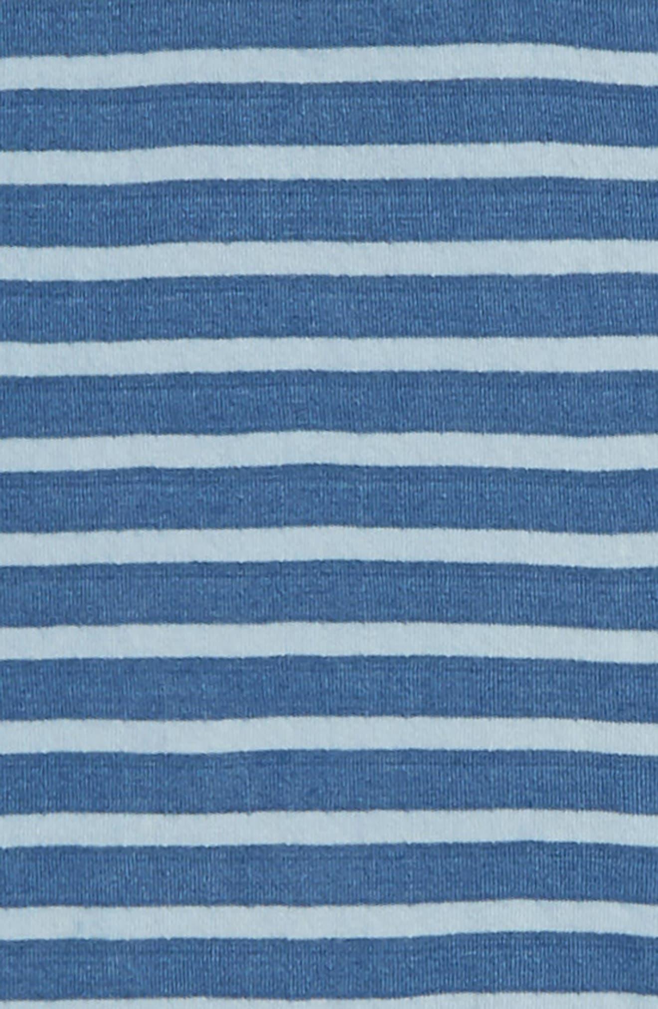 Stripe Hooded Henley,                             Alternate thumbnail 2, color,                             Blue Indigo Stripe