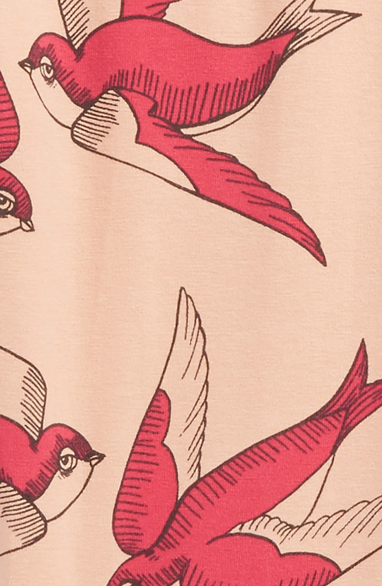 Swallows Leggings,                             Alternate thumbnail 2, color,                             Pink