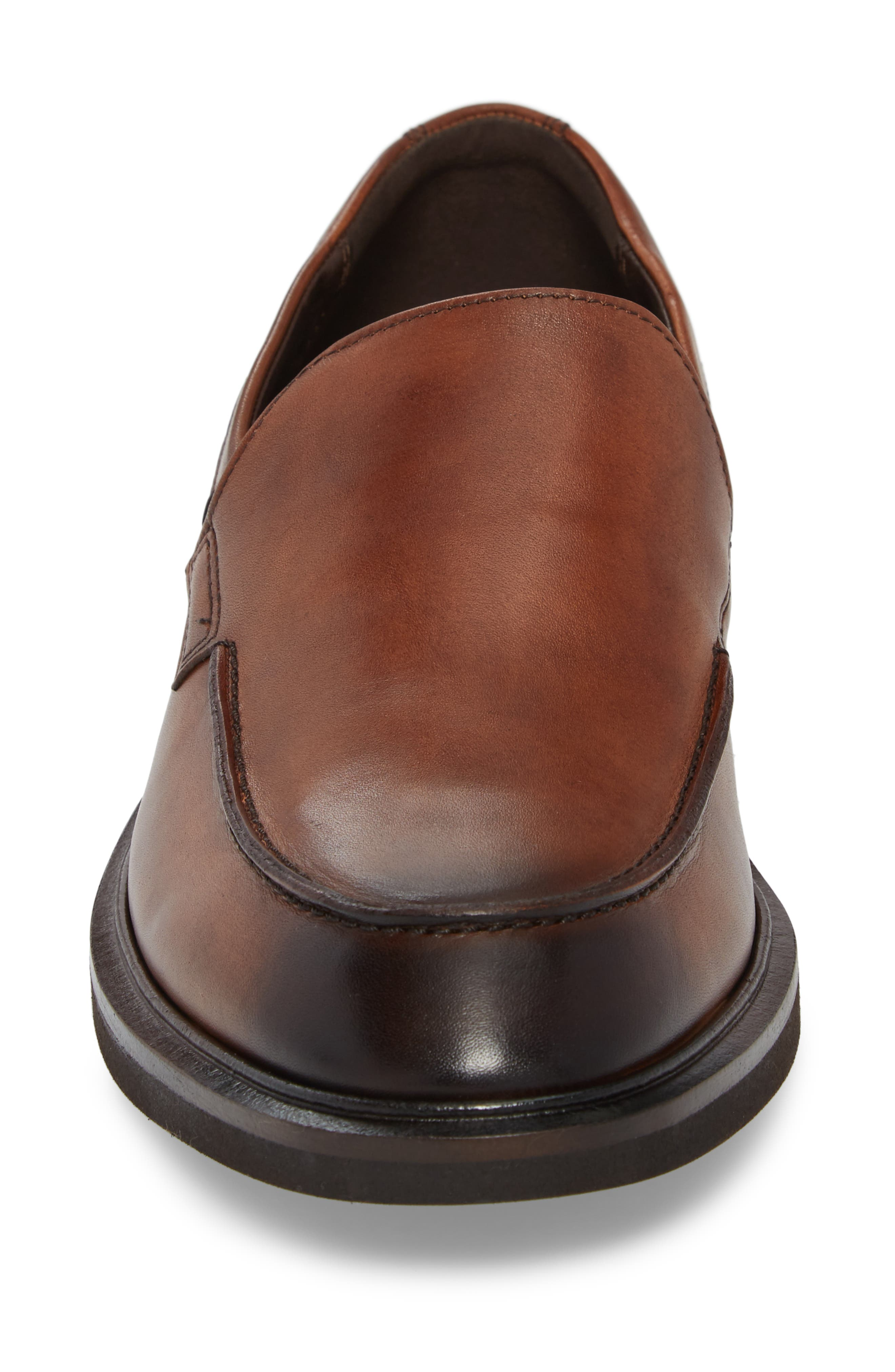Alternate Image 4  - ECCO Vitrus II Apron Toe Loafer (Men)