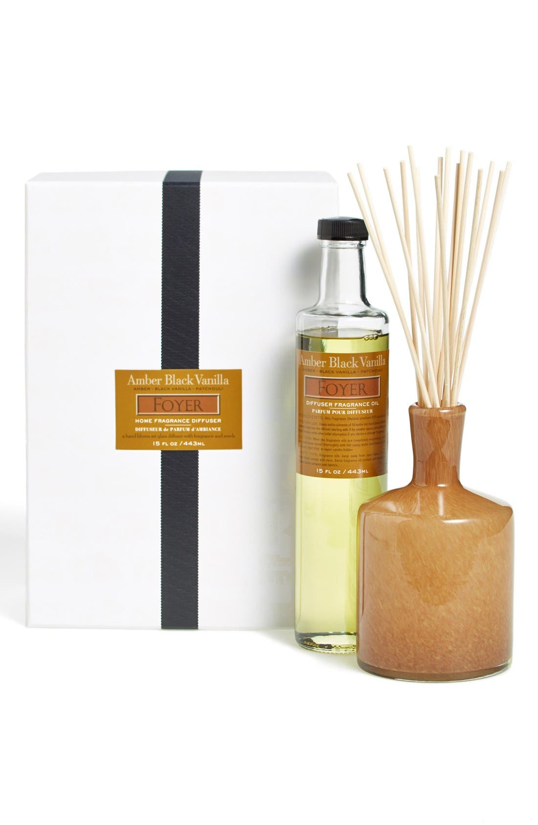 'Amber Black Vanilla - Foyer' Fragrance Diffuser,                             Alternate thumbnail 2, color,                             No Color