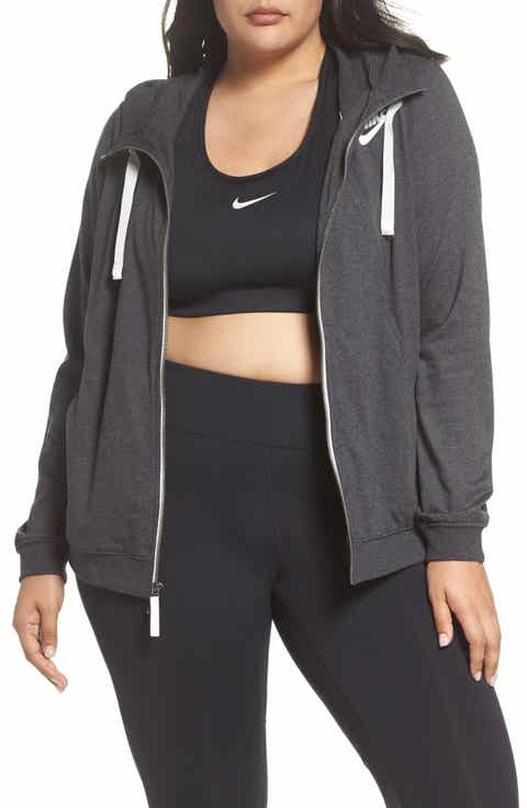 Nike Gym Zip Hoodie (Plus Size)