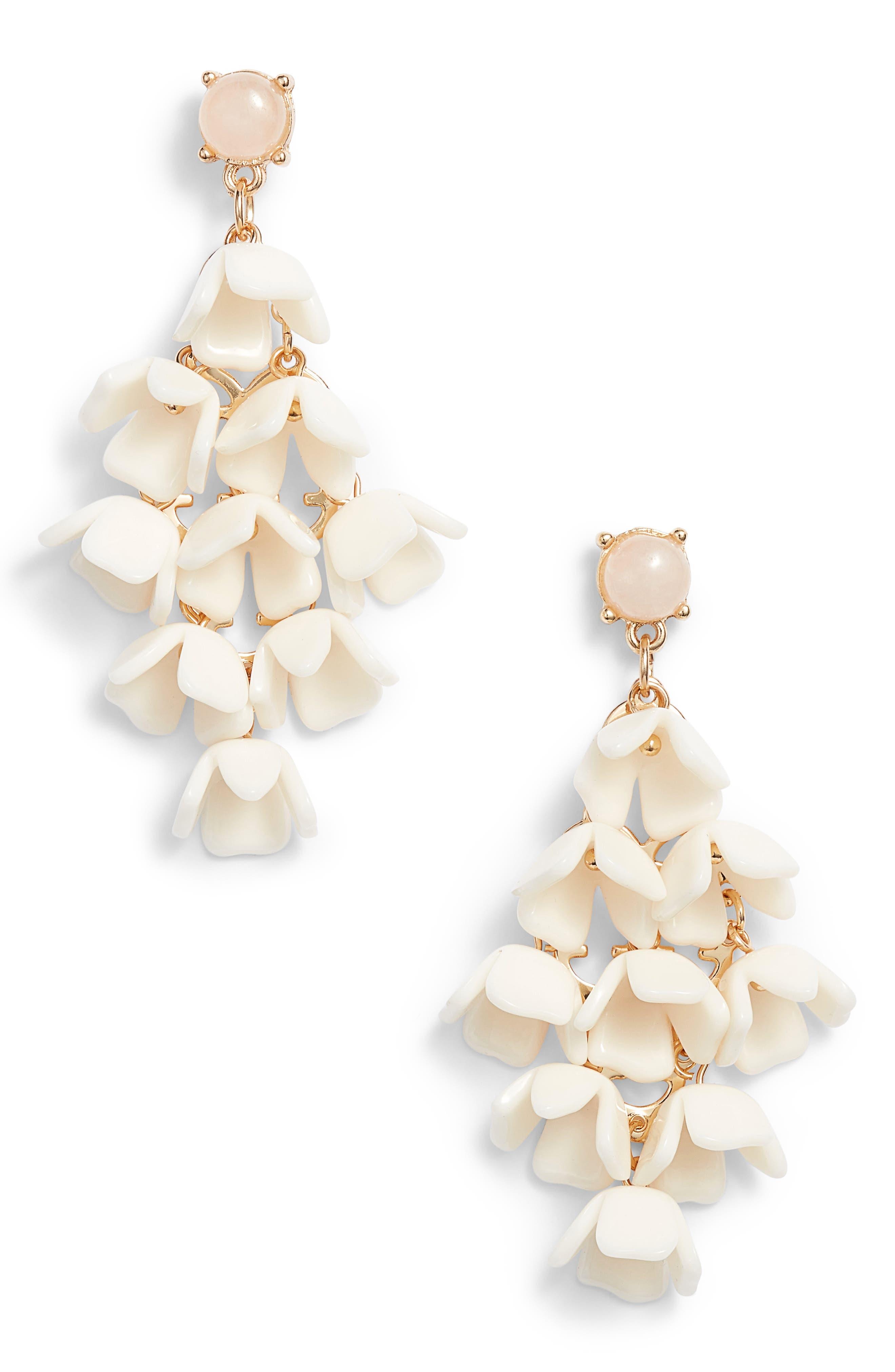 Kitsch Flower Drop Earrings