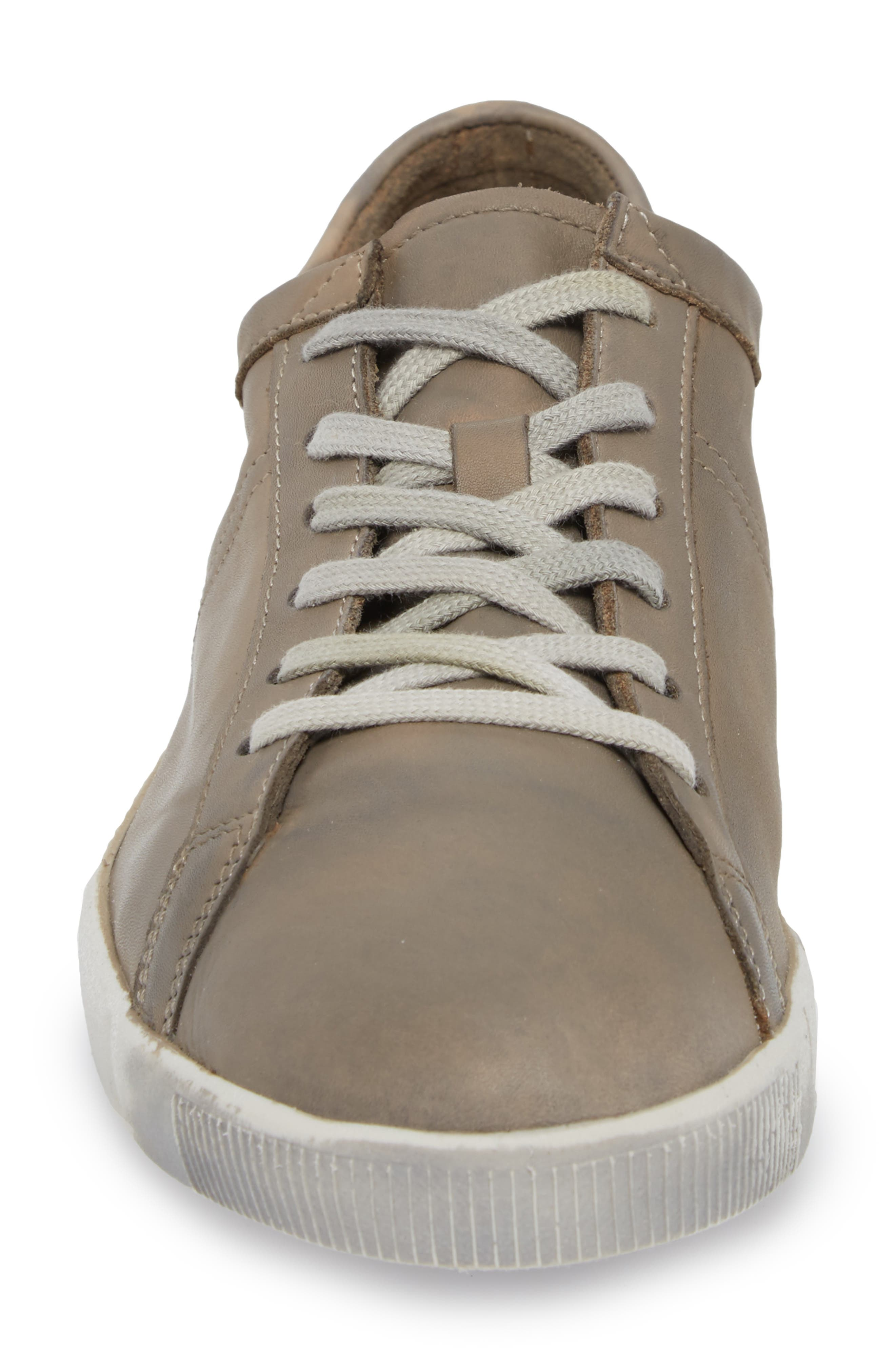 Tom Sneaker,                             Alternate thumbnail 4, color,                             Taupe Leather